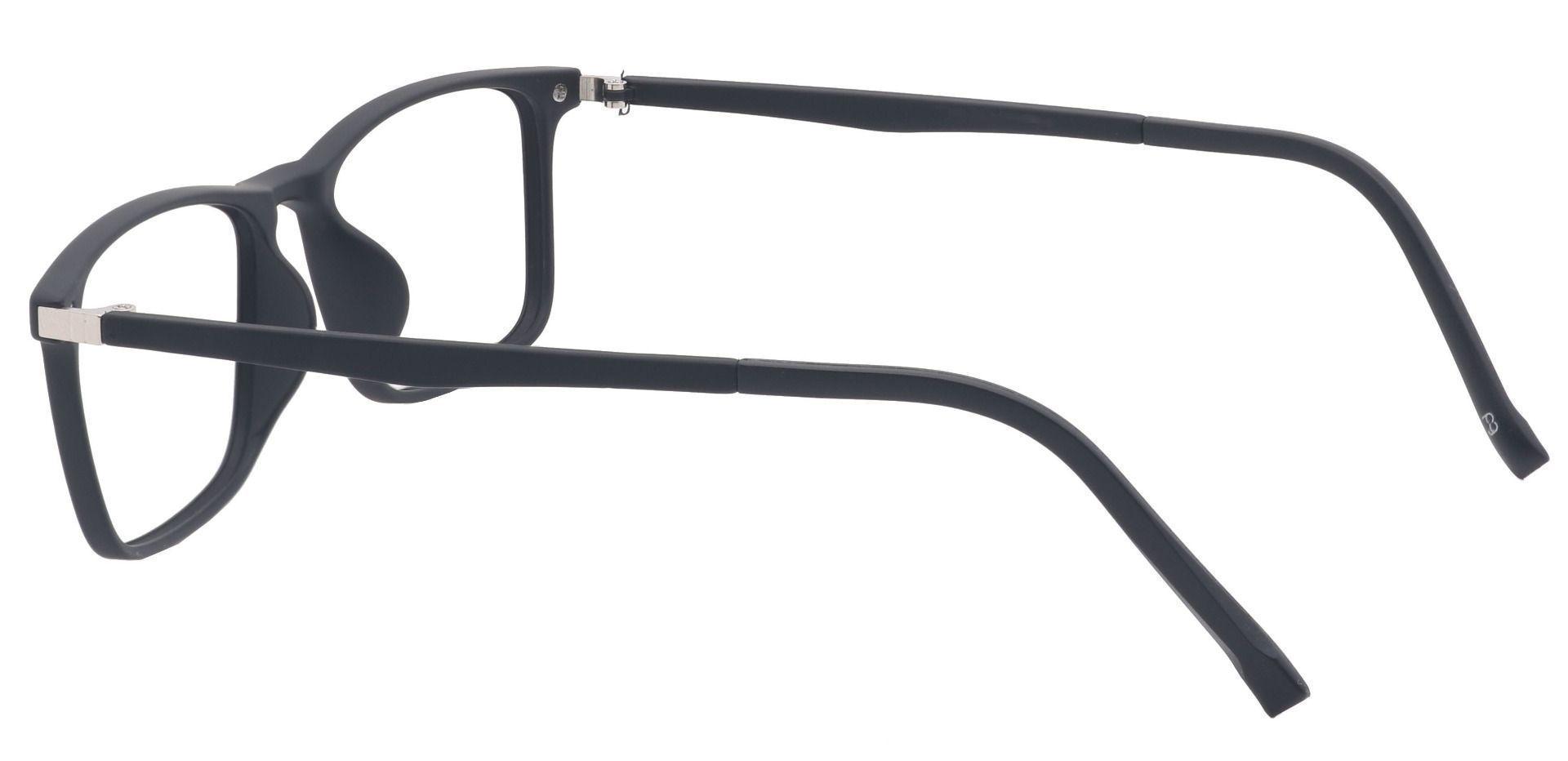 Sidney Rectangle Prescription Glasses - Black
