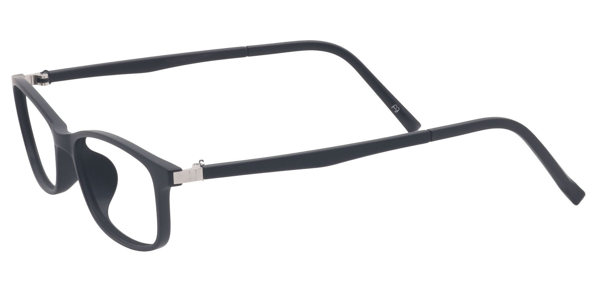 Ole Oval Prescription Glasses - Black