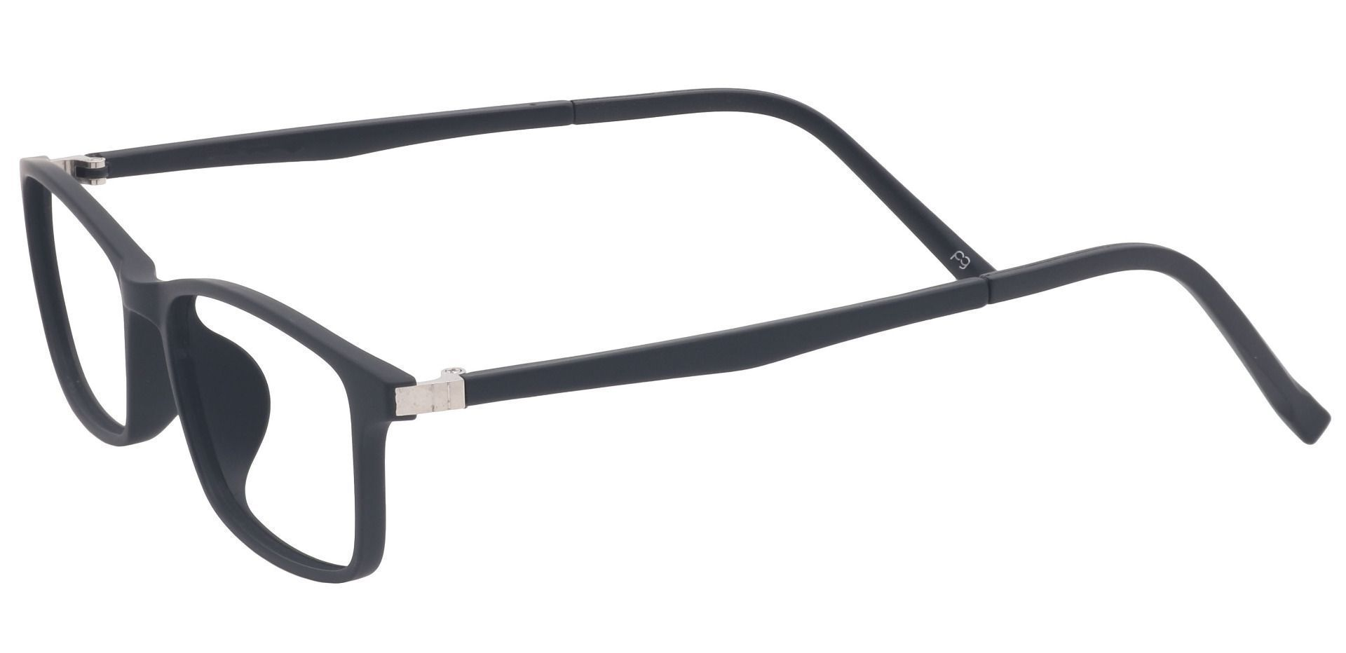 Ola Oval Prescription Glasses - Black