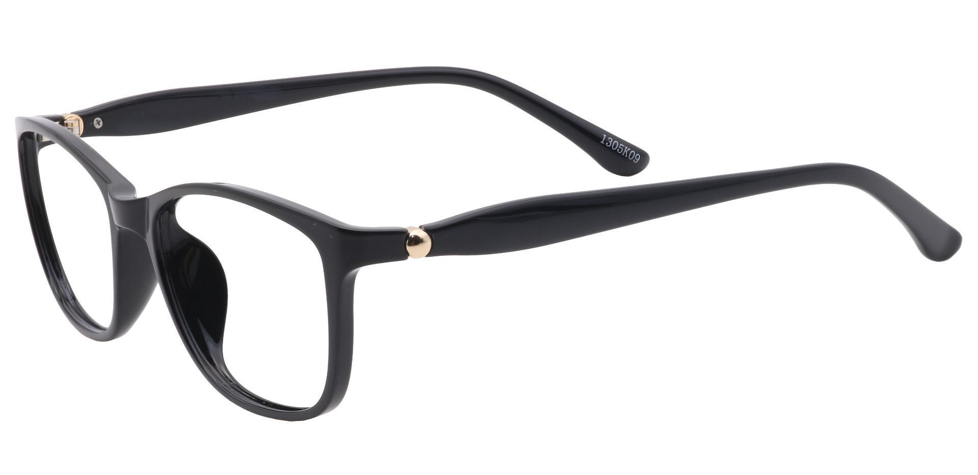Camden Oval Prescription Glasses - Black
