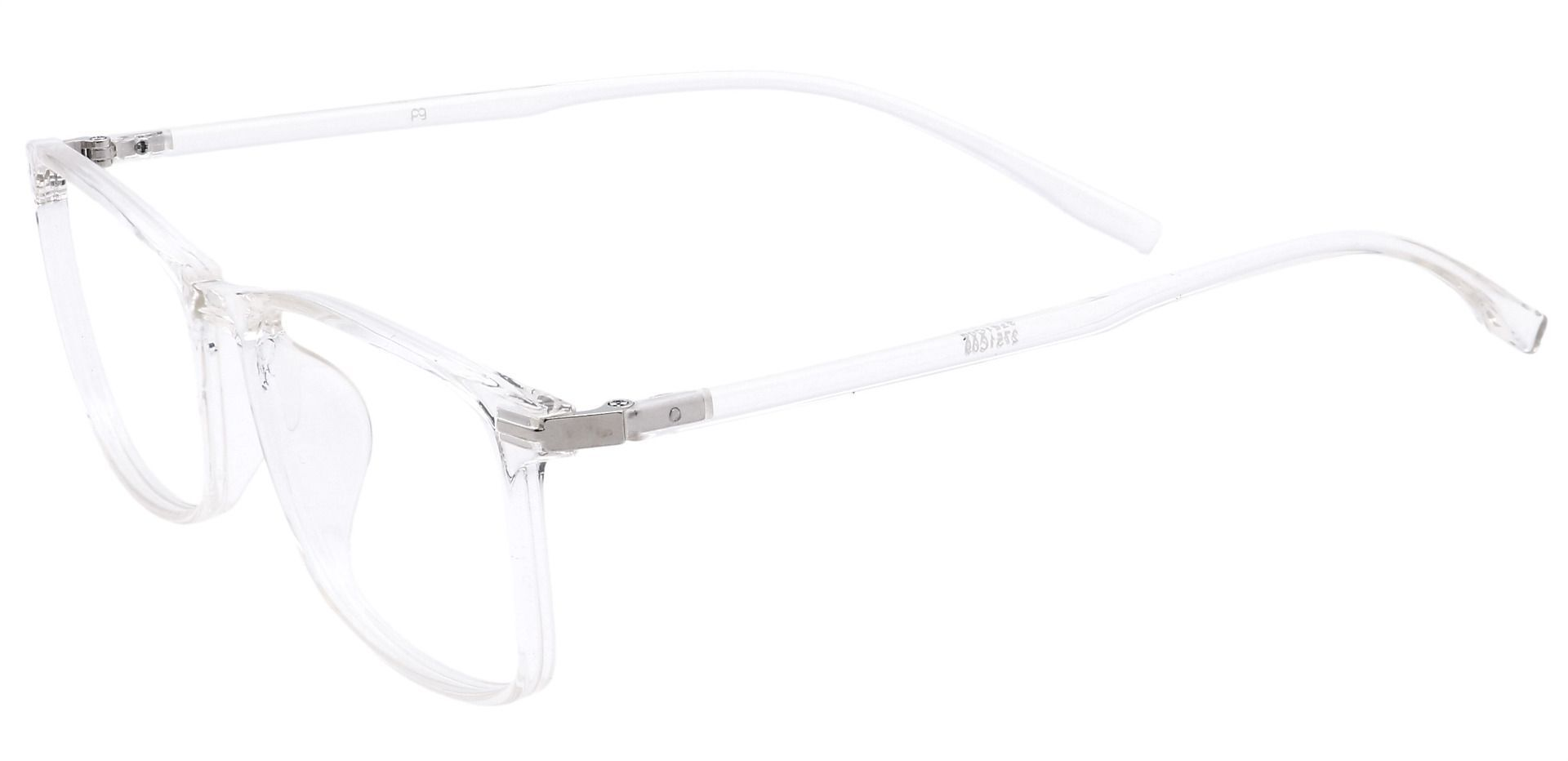 Laine Rectangle Prescription Glasses - Clear