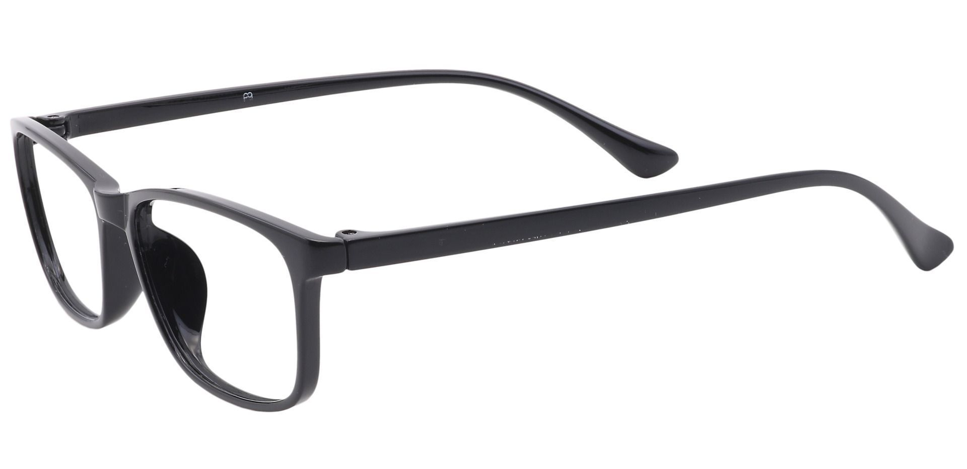 Beckett Rectangle Prescription Glasses - Black