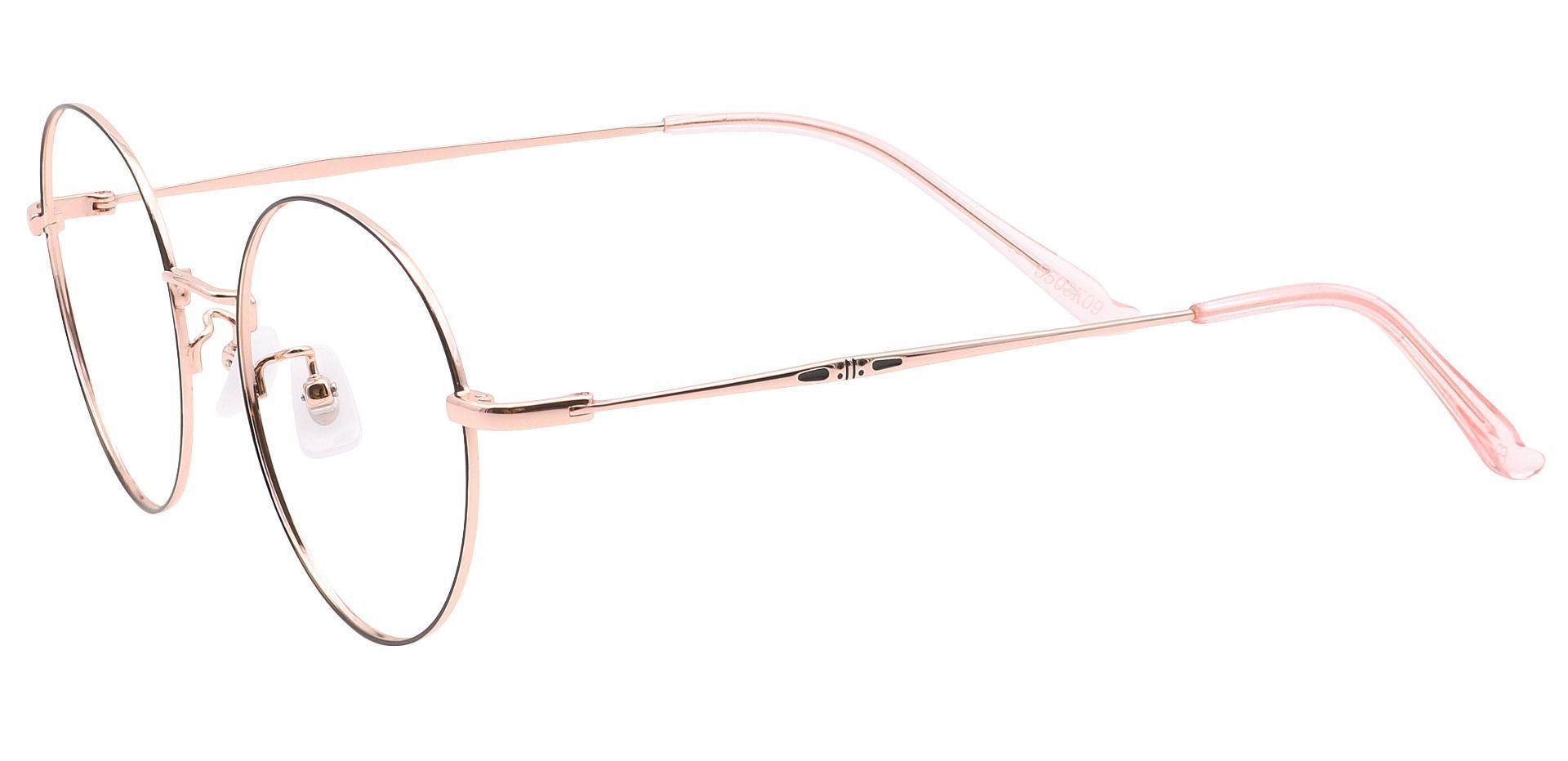 Moscato Round Prescription Glasses - Black