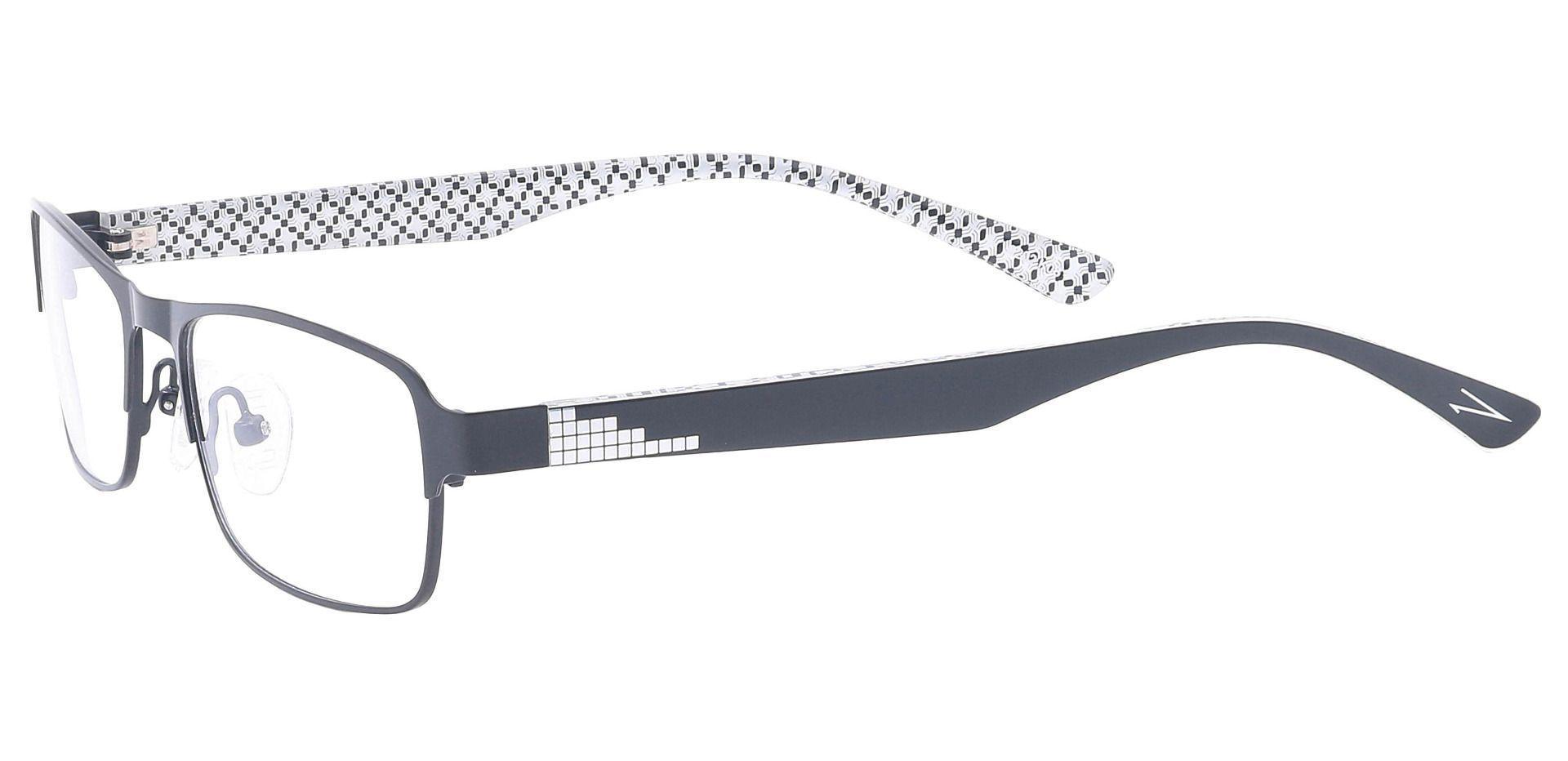 Theo Rectangle Prescription Glasses - Black