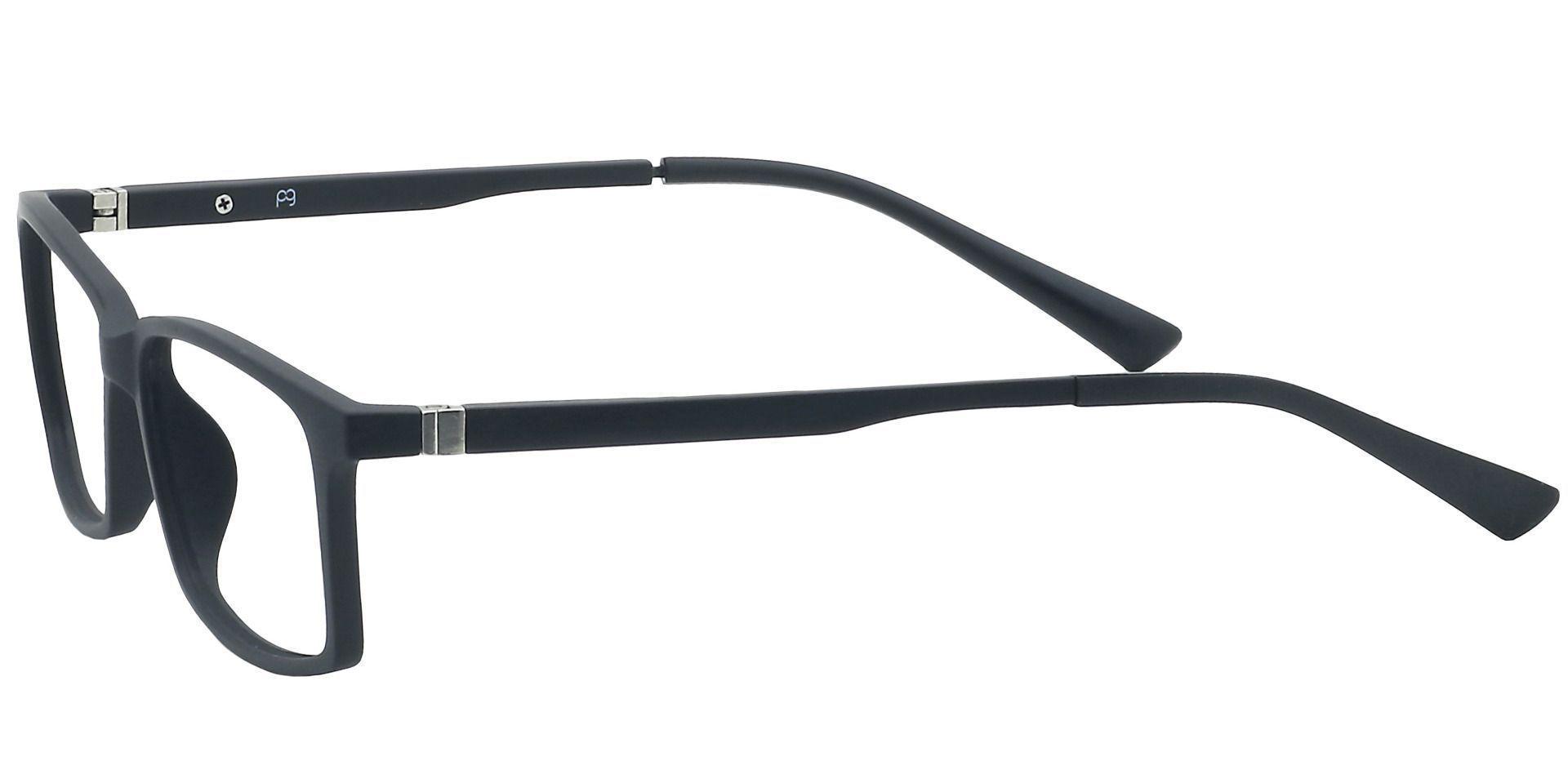 Tahoe Rectangle Prescription Glasses - Black