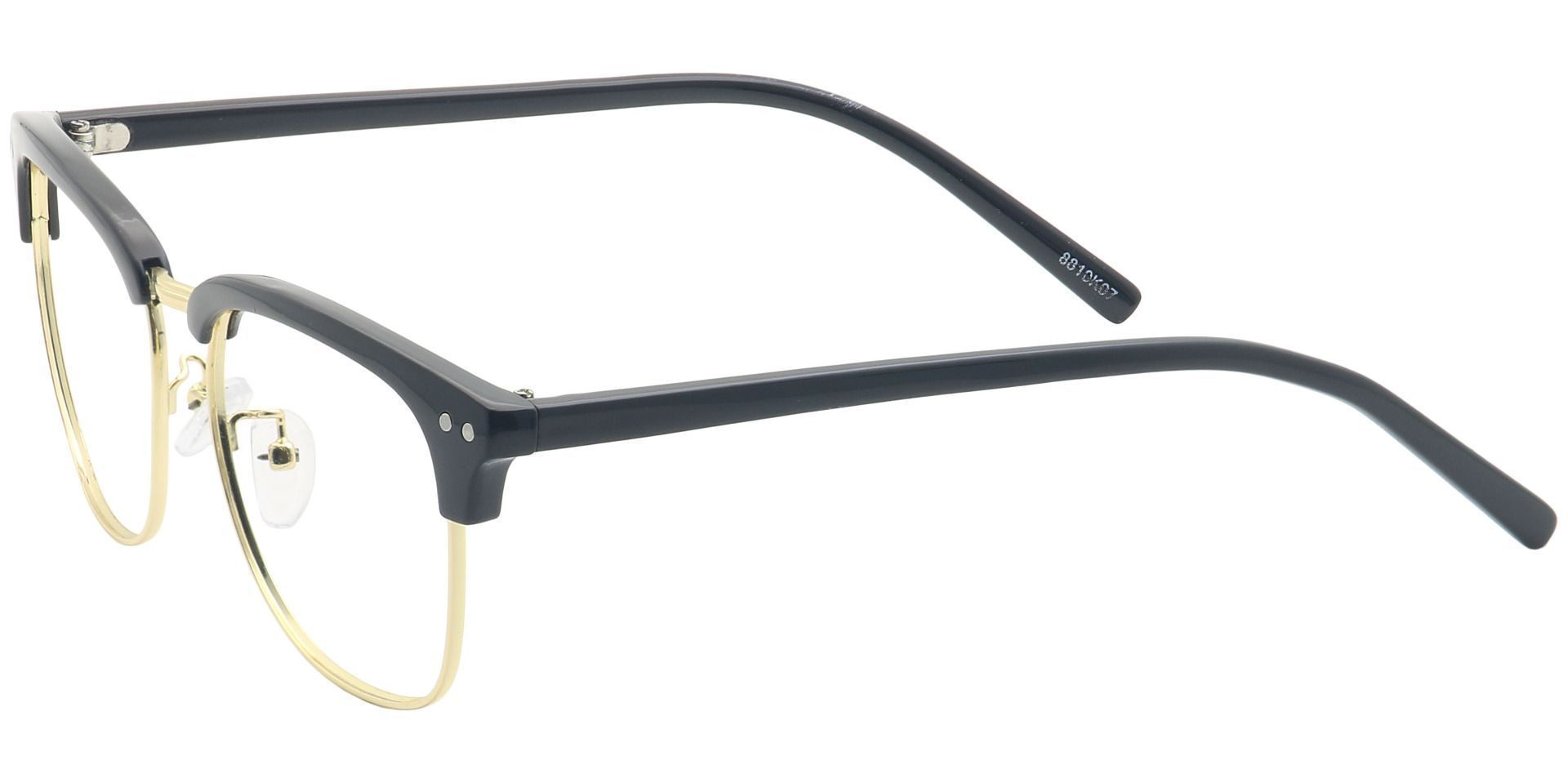Kell Browline Lined Bifocal Glasses - Black