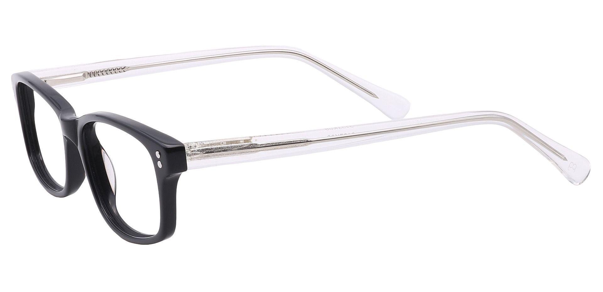 Olmstead Rectangle Prescription Glasses - Black