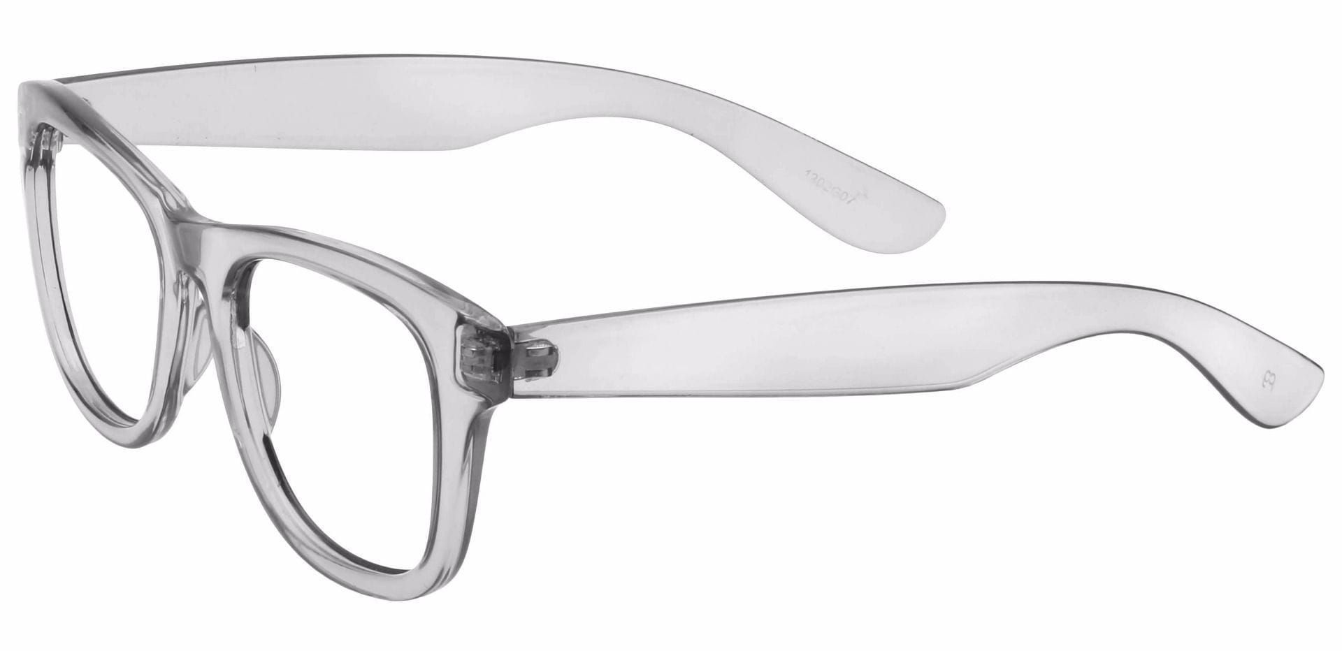 Tyre Square Non-Rx Glasses - Gray