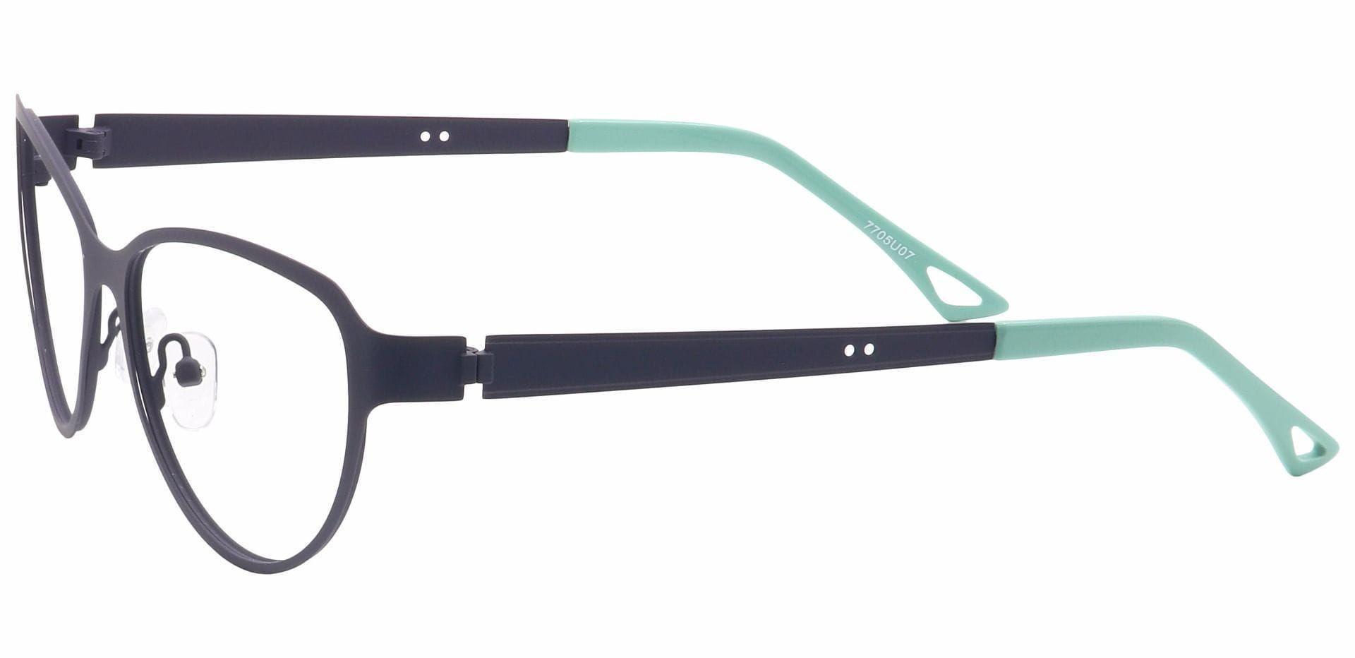 Sierra Cat-Eye Reading Glasses - Blue