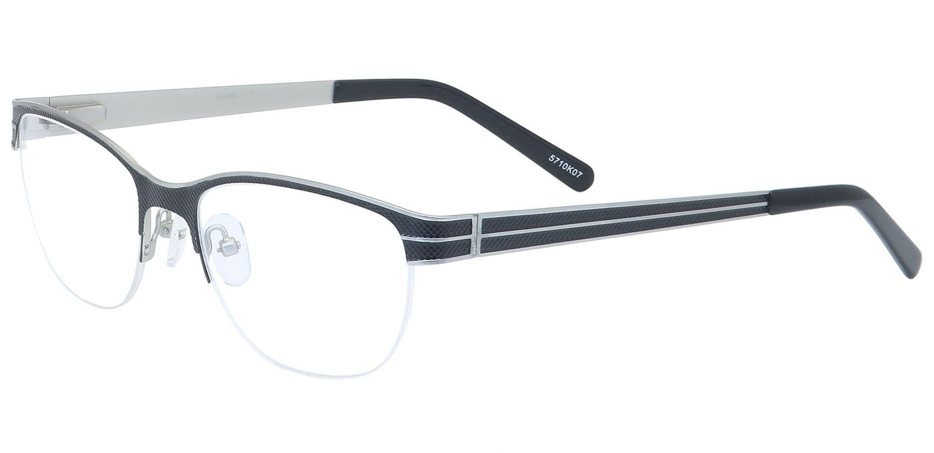 Arren Round Lined Bifocal Glasses - White