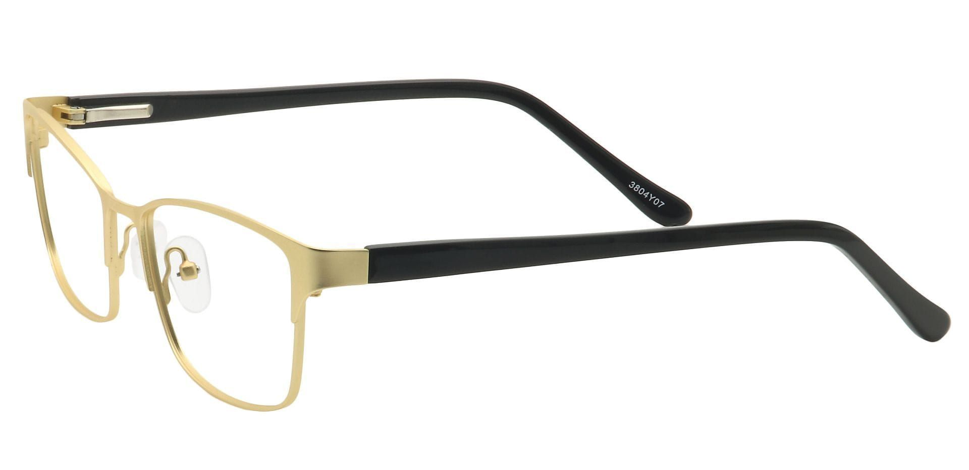 Tella Rectangle Eyeglasses Frame - Yellow