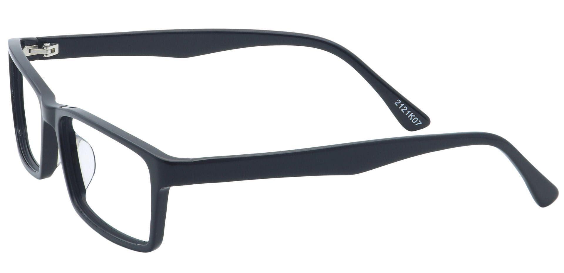 Avant Rectangle Prescription Glasses - Black
