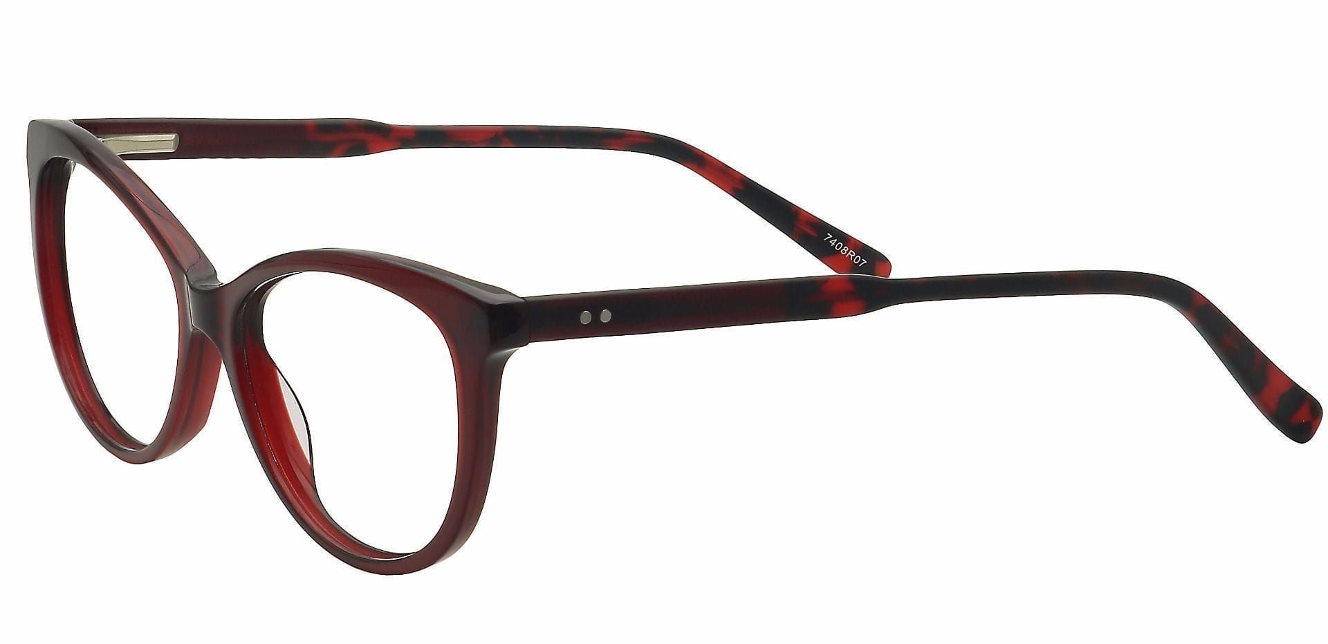 Iris Cat-Eye Reading Glasses - Red