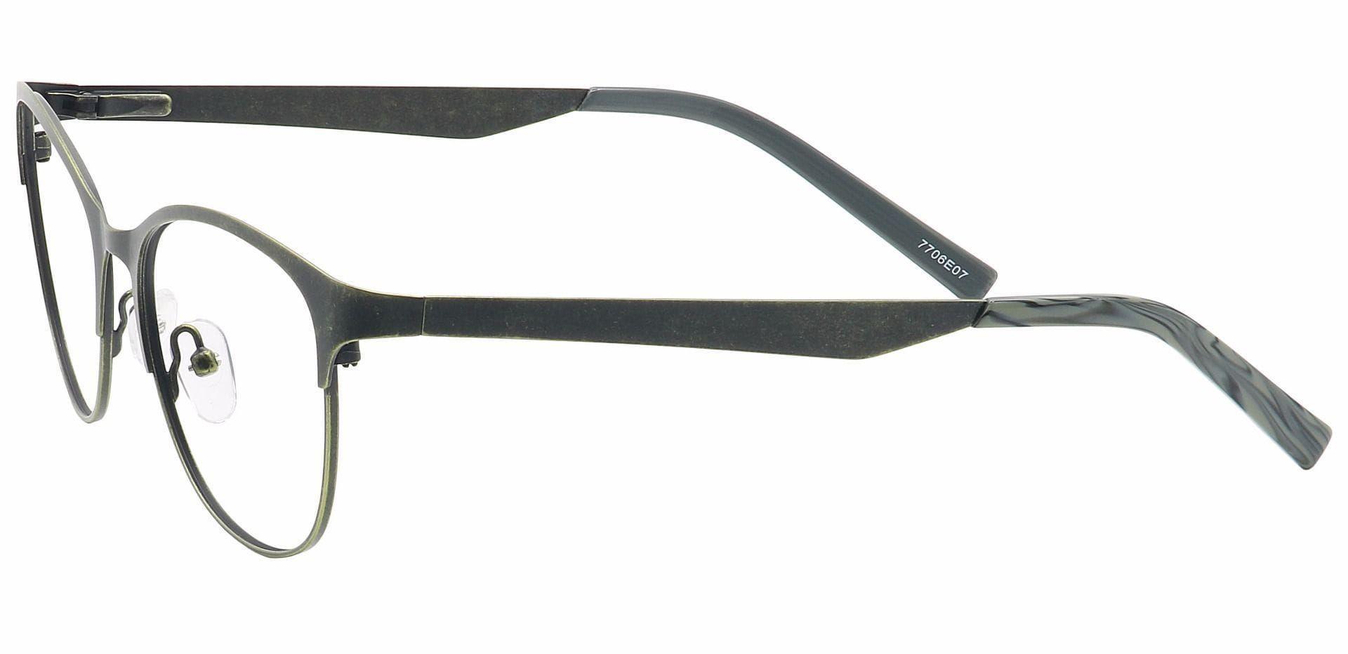 Feli Cat-Eye Eyeglasses Frame - Green