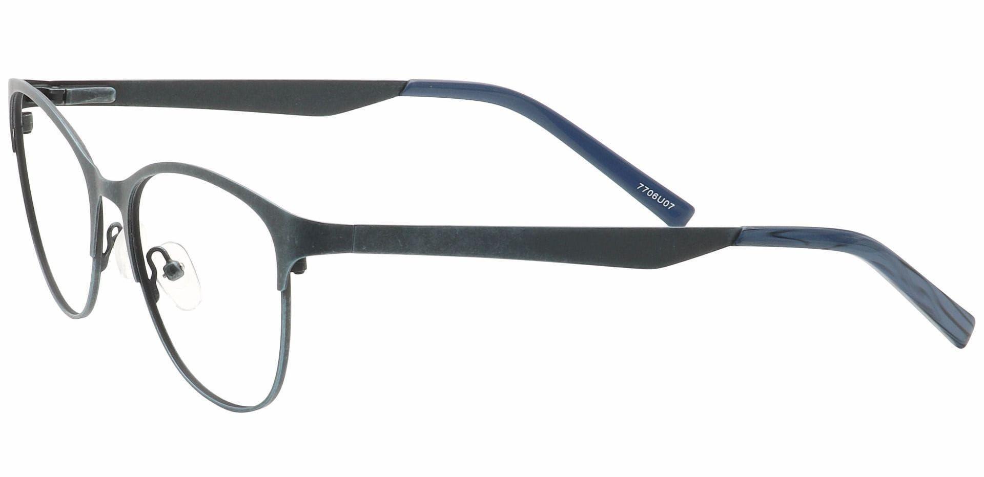Feli Cat-Eye Progressive Glasses - Blue