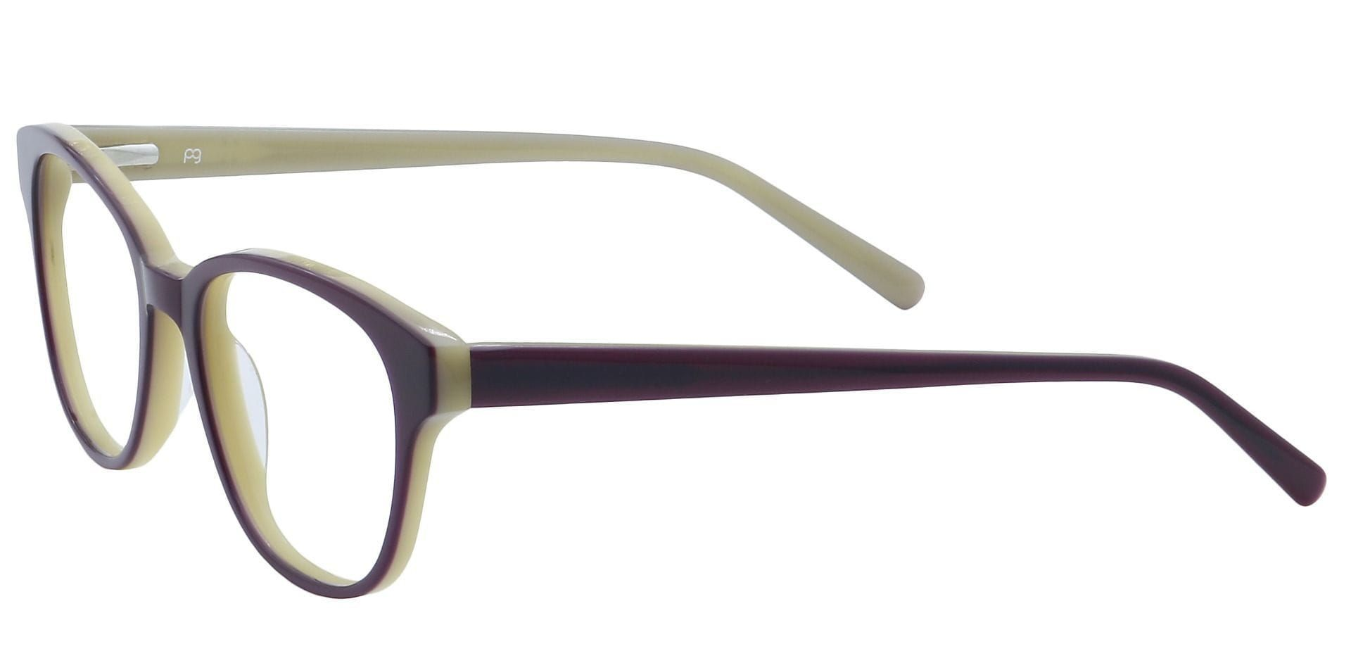 Pinnacle Classic Square Lined Bifocal Glasses - Brown
