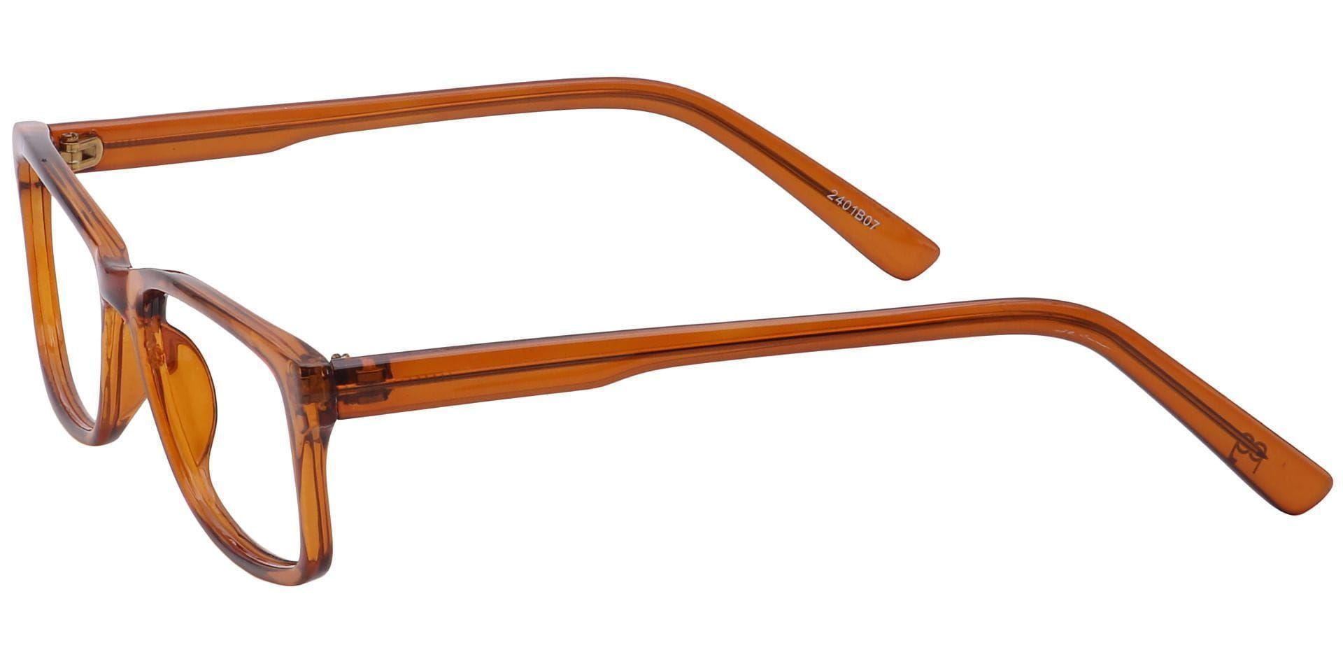 Holmes Rectangle Reading Glasses - Brown