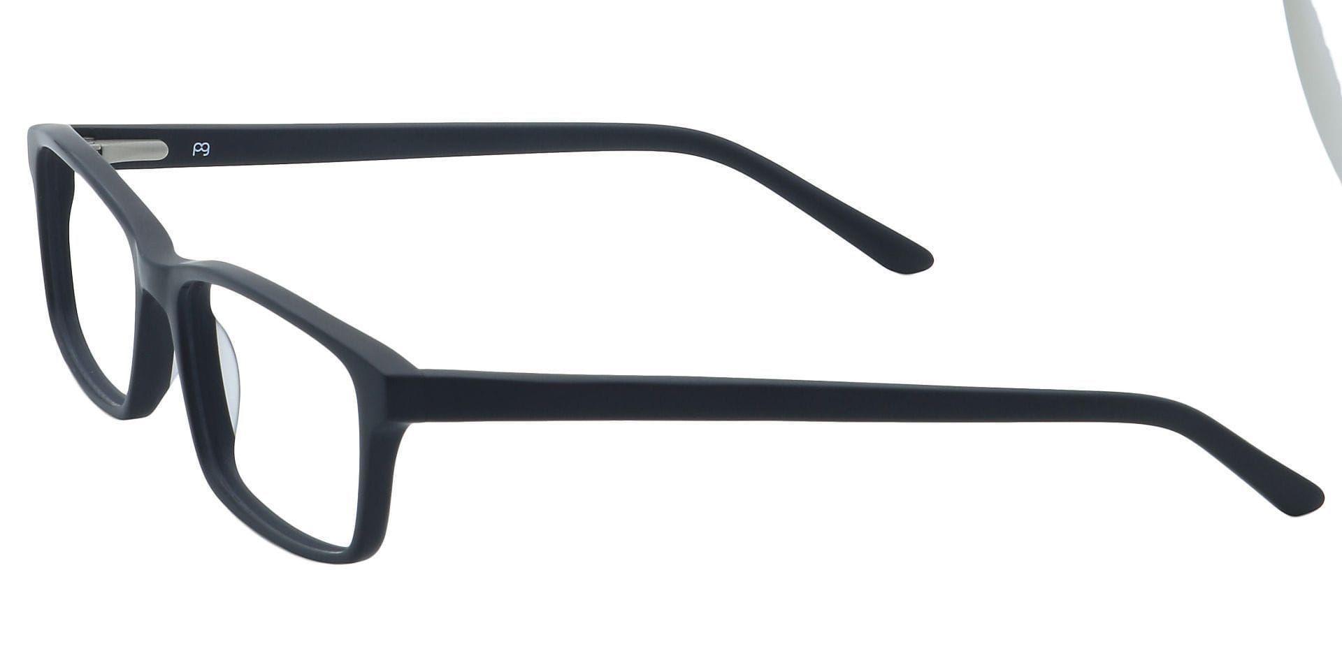 Suave Rectangle Prescription Glasses - Black