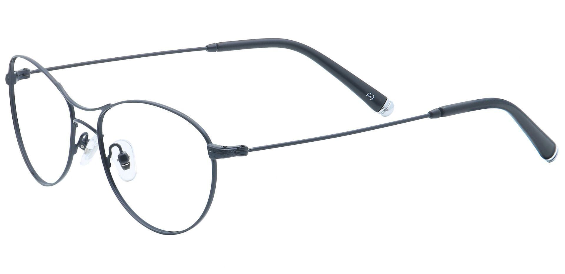 Zadie Aviator Reading Glasses - Black