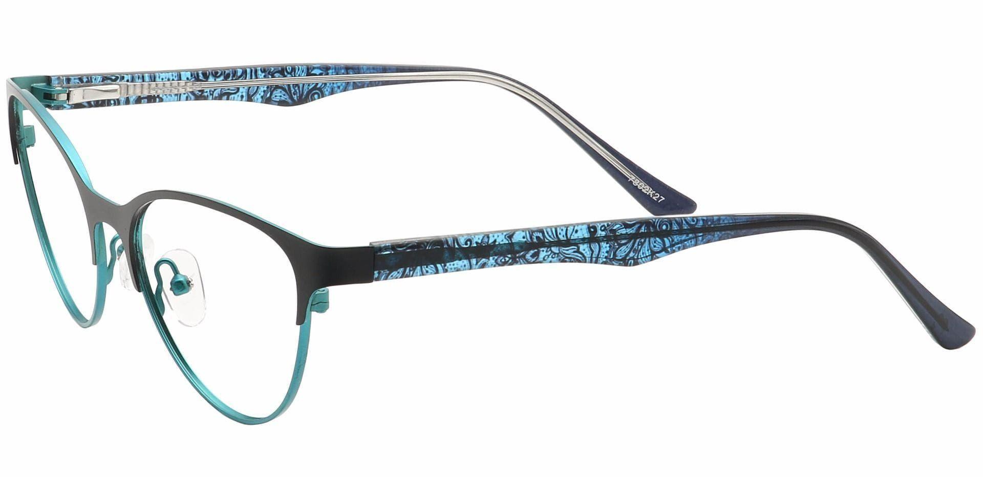 Jorde Cat-Eye Progressive Glasses - Blue