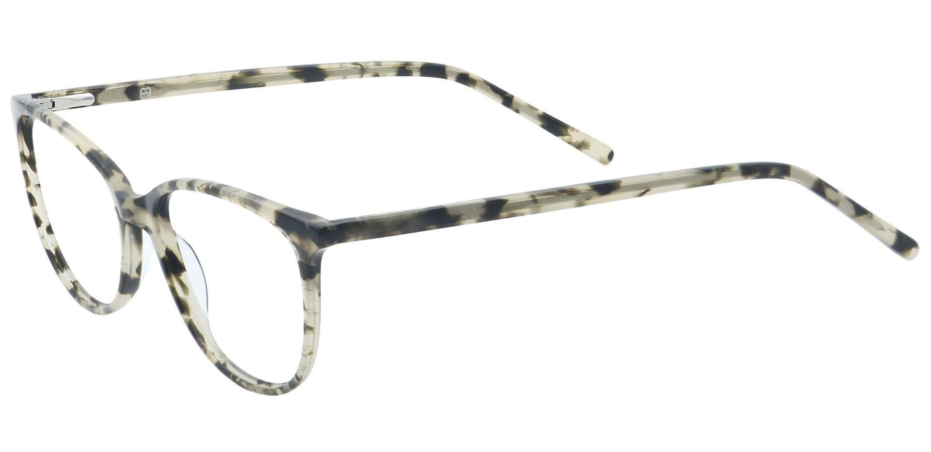 Carla Oval Prescription Glasses - Gray