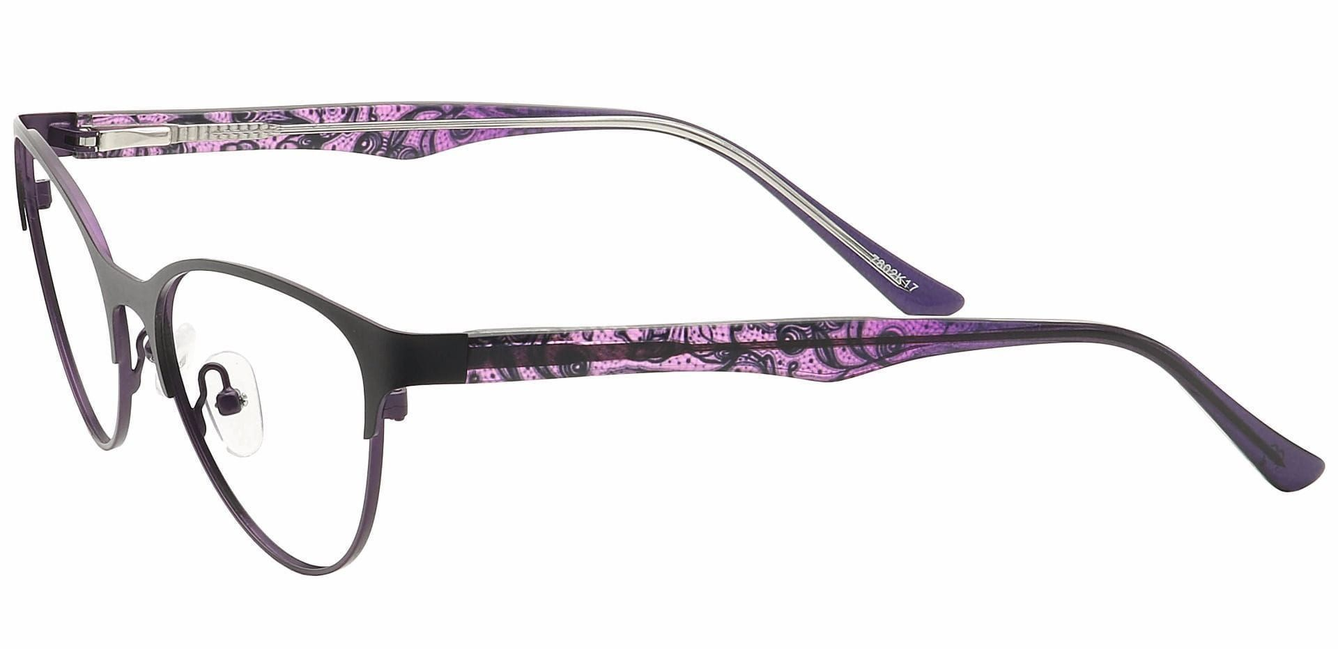 Jorde Cat-Eye Non-Rx Glasses - Purple