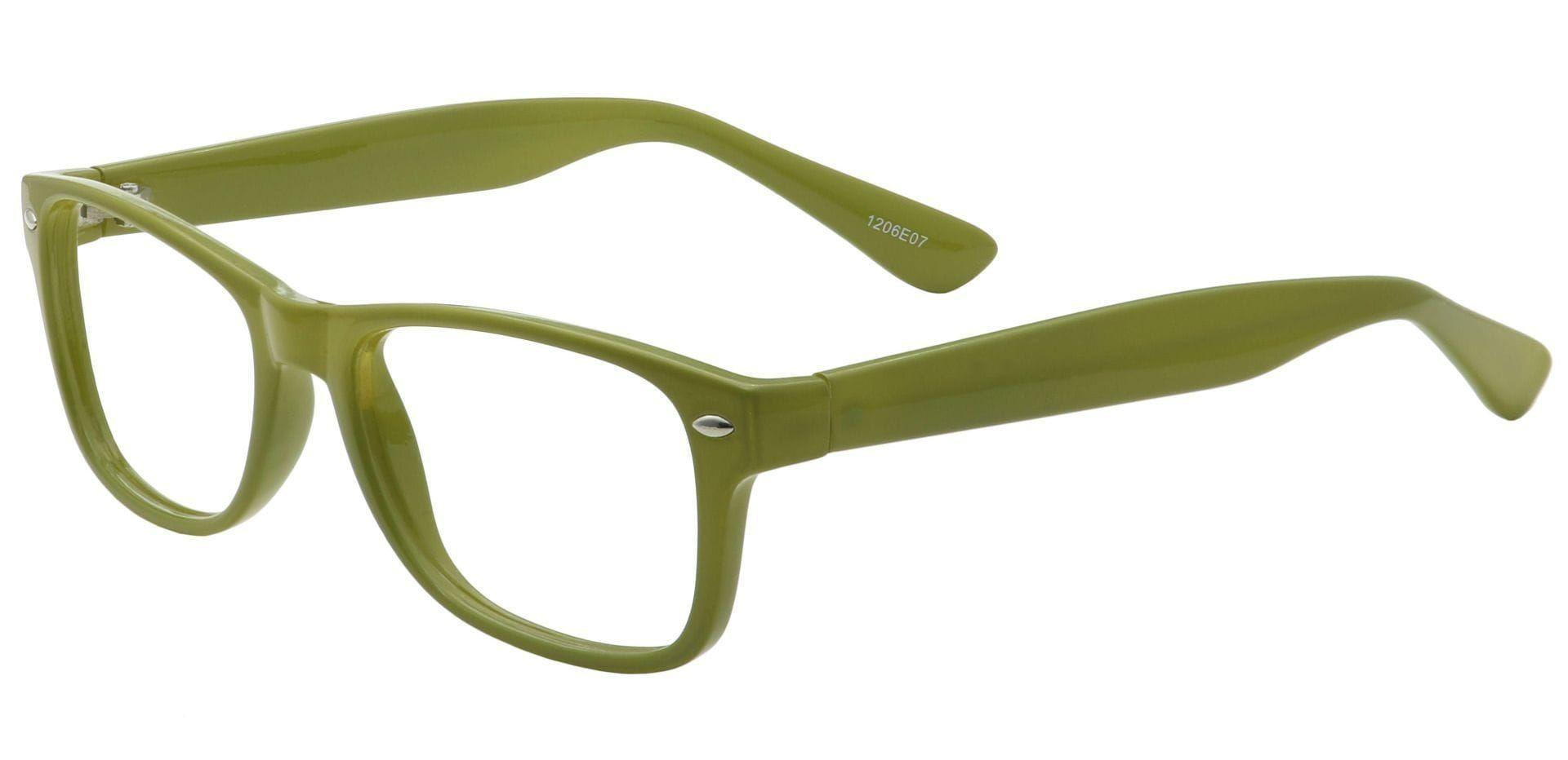 Kent Rectangle Prescription Glasses - Green