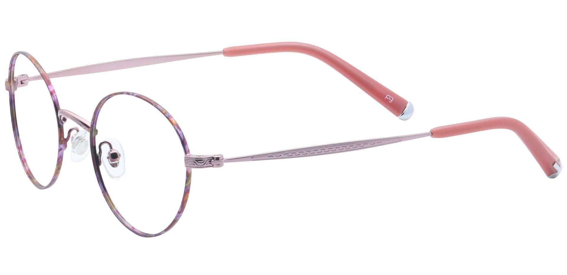 Skylar Round Reading Glasses - Red