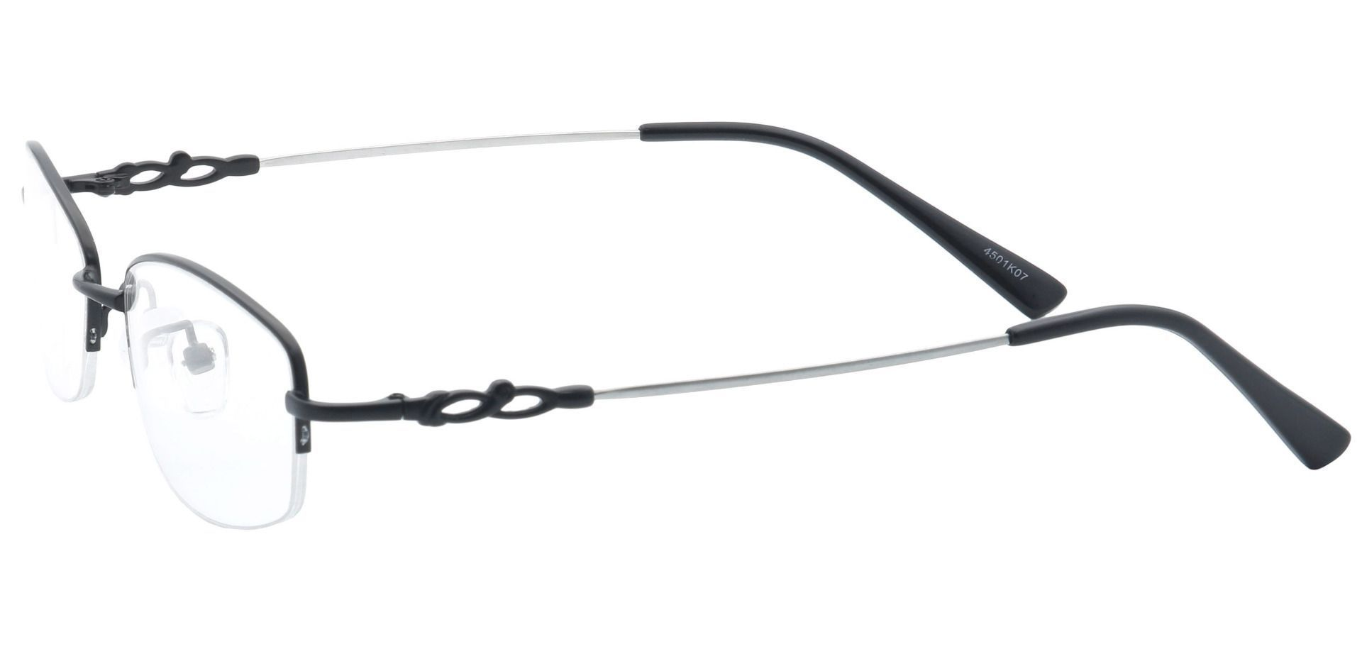 Meadowsweet Oval Reading Glasses - Black