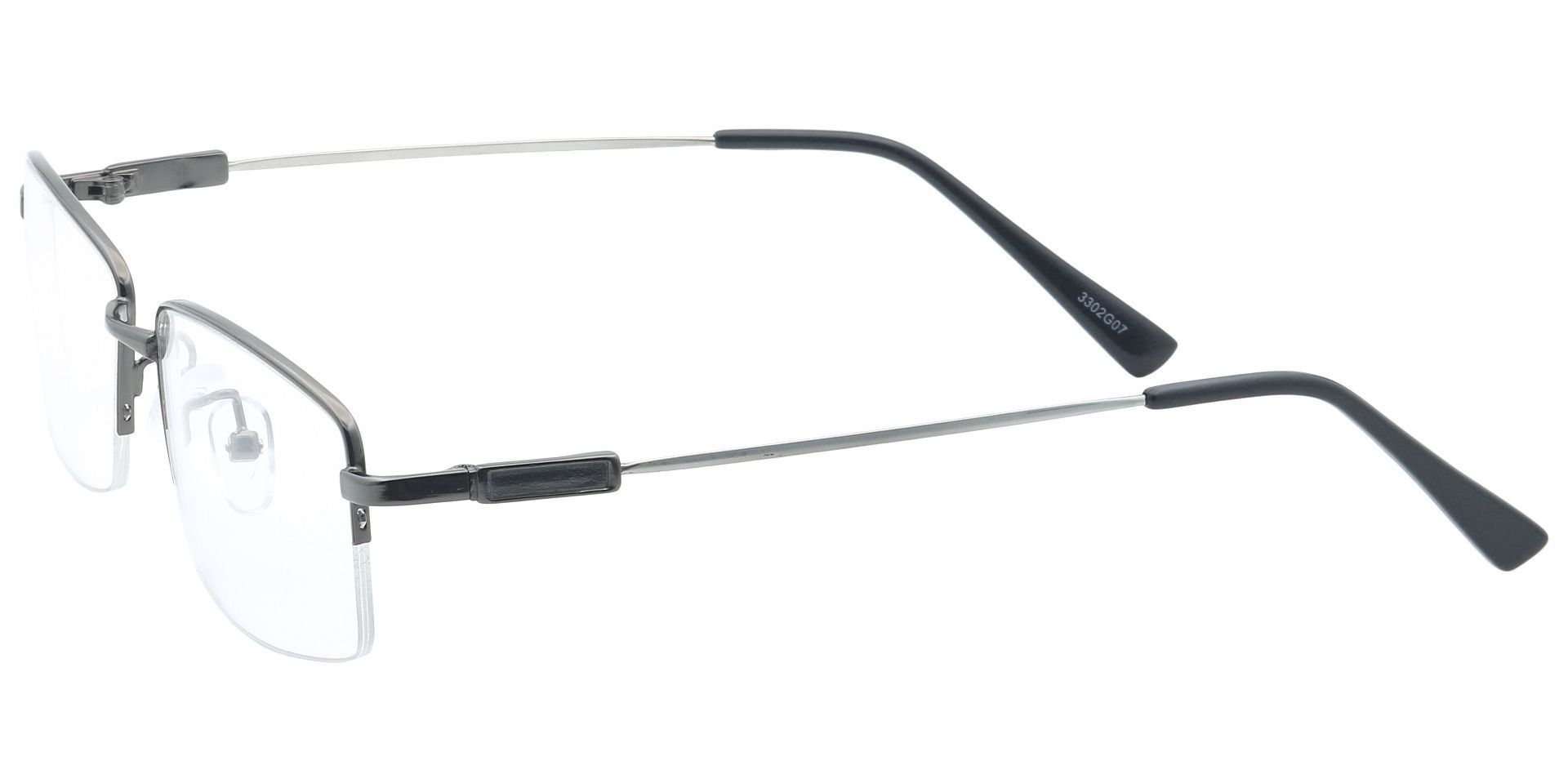 Catalyst Rectangle Prescription Glasses -  Gunmetal