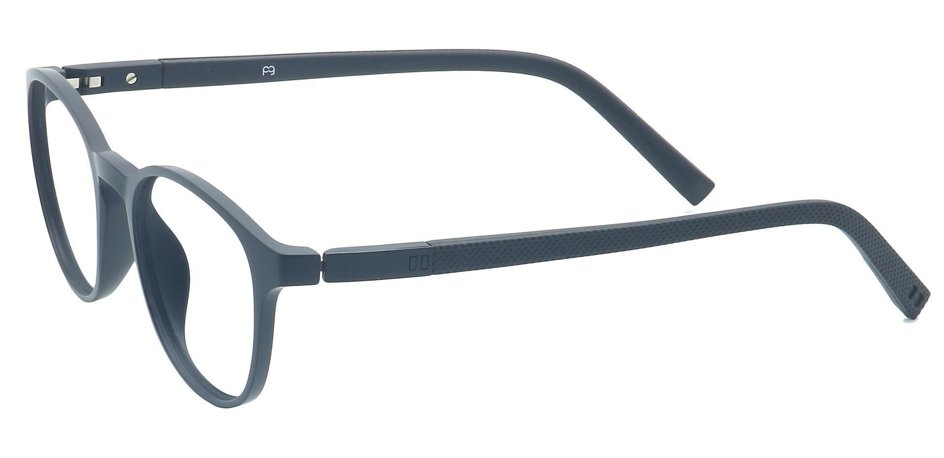 Flex Round Progressive Glasses - Gray