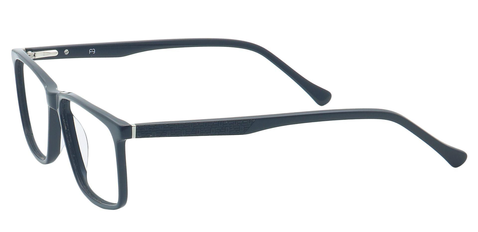 Vance Rectangle Prescription Glasses - Black