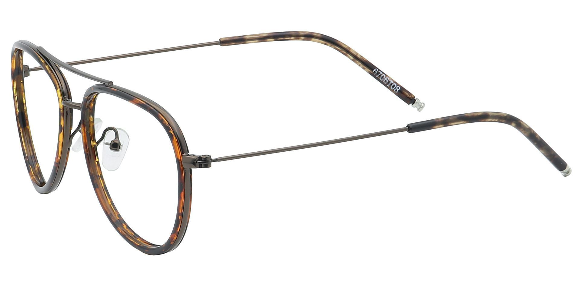 Ace Aviator Reading Glasses - Tortoise
