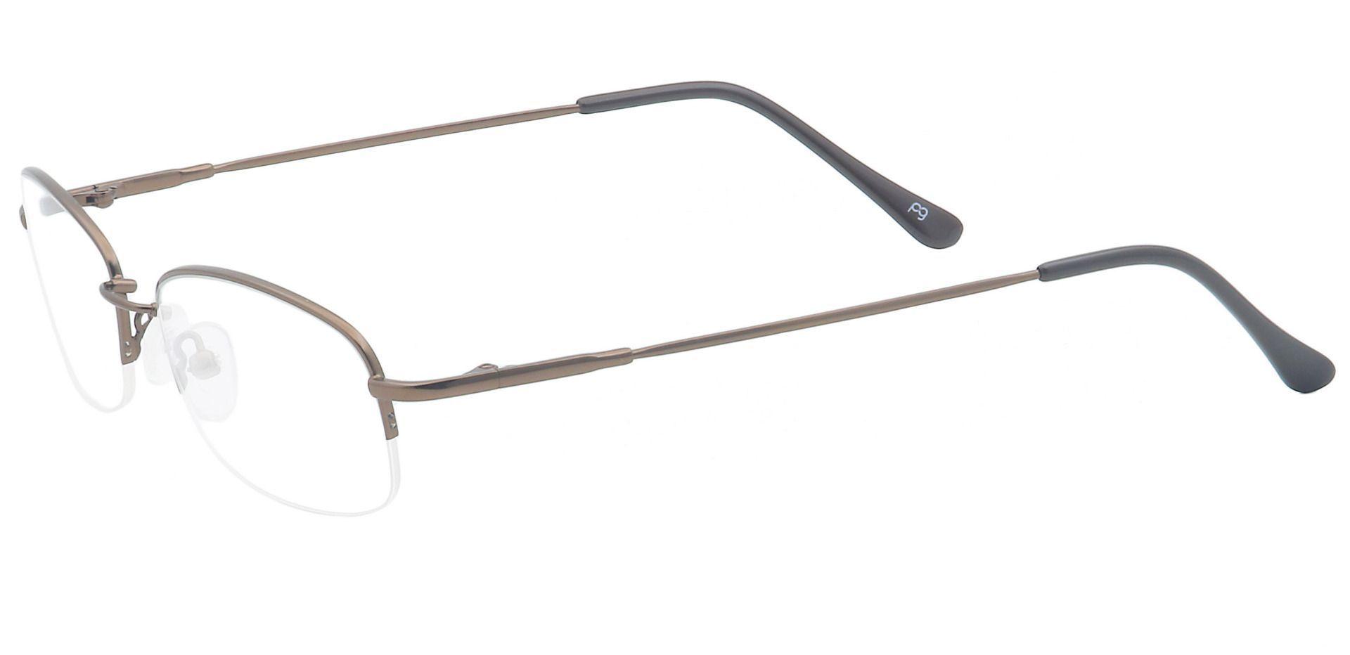 Juniper Oval Non-Rx Glasses - Brown