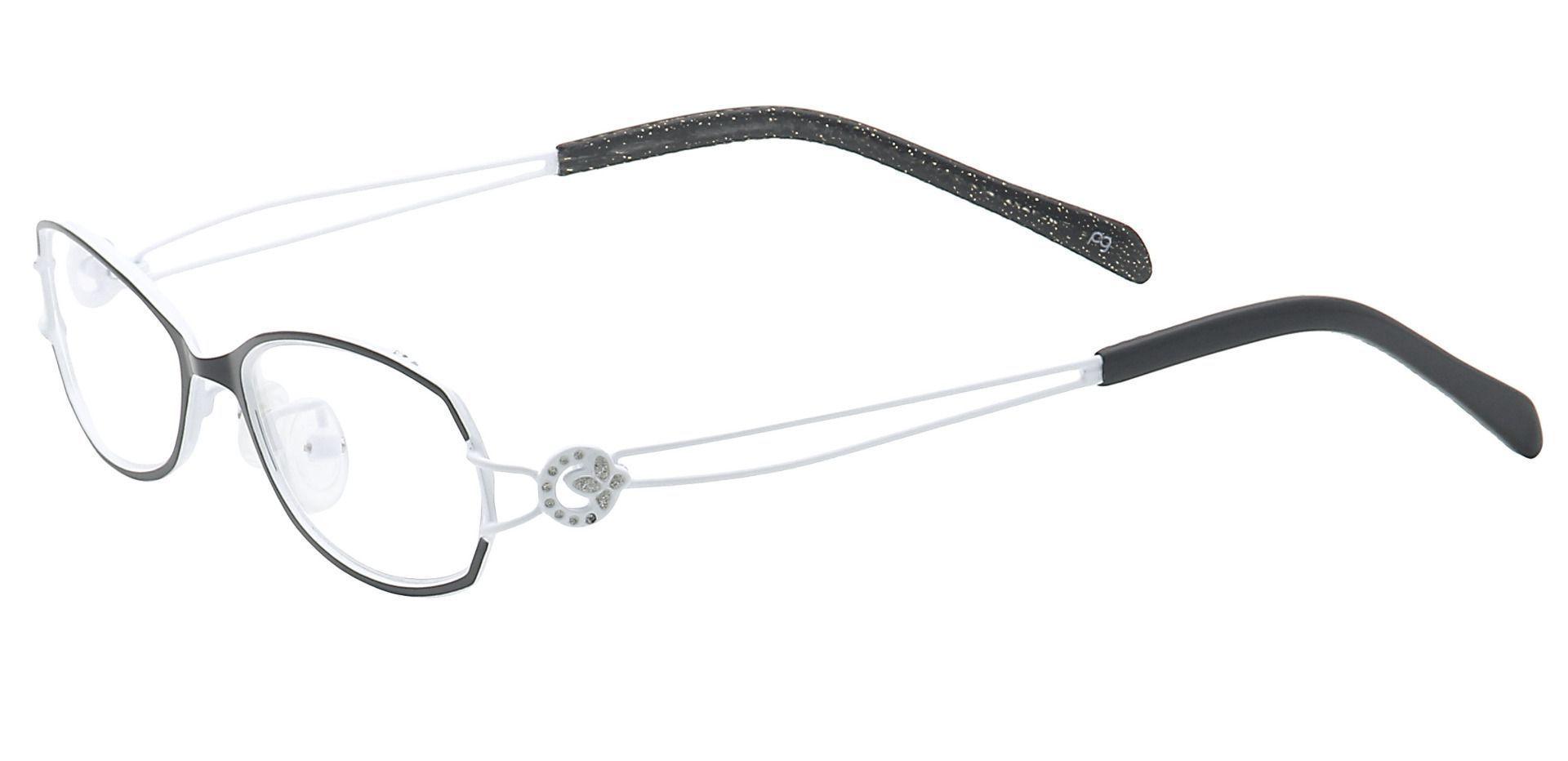Cece Oval Reading Glasses - Black