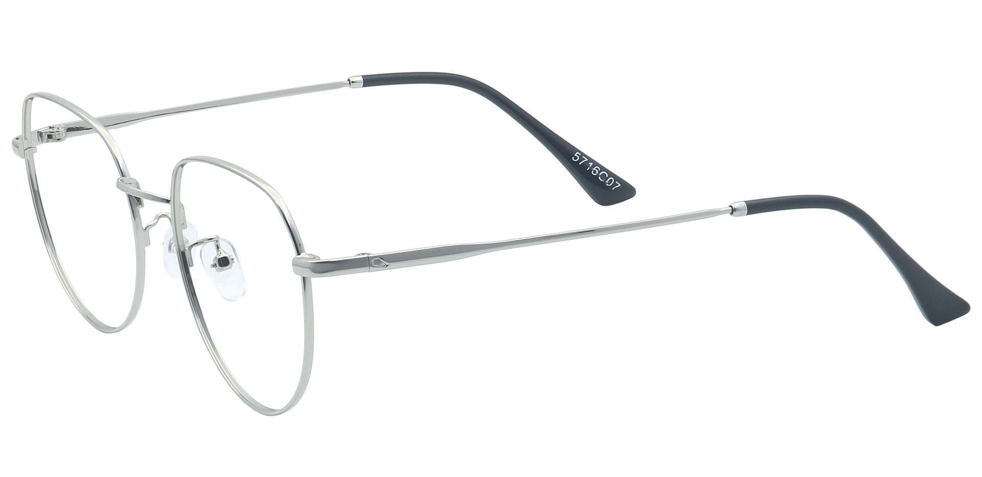 Maren Round Reading Glasses - Clear