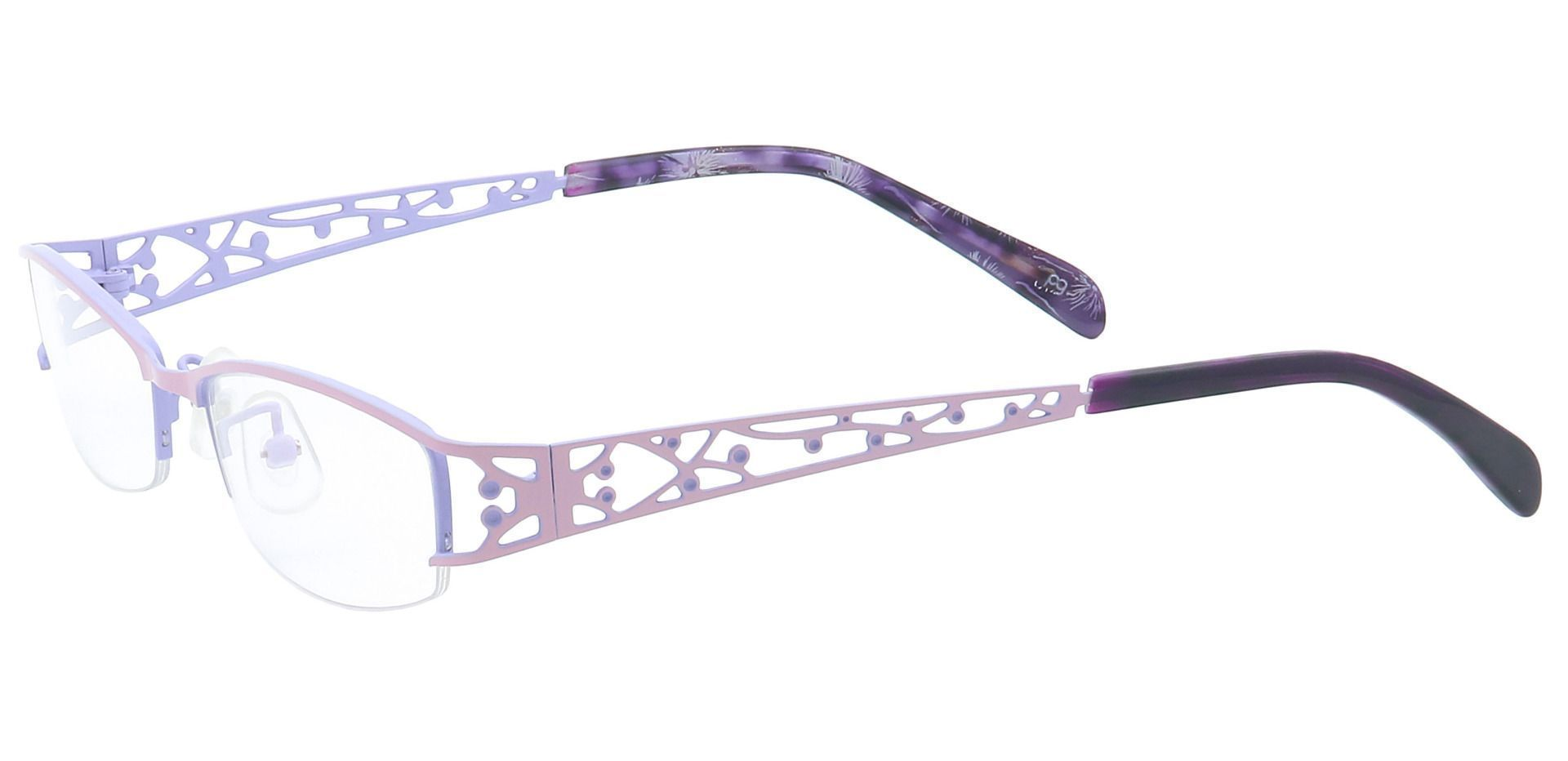 May Rectangle Reading Glasses - Pink