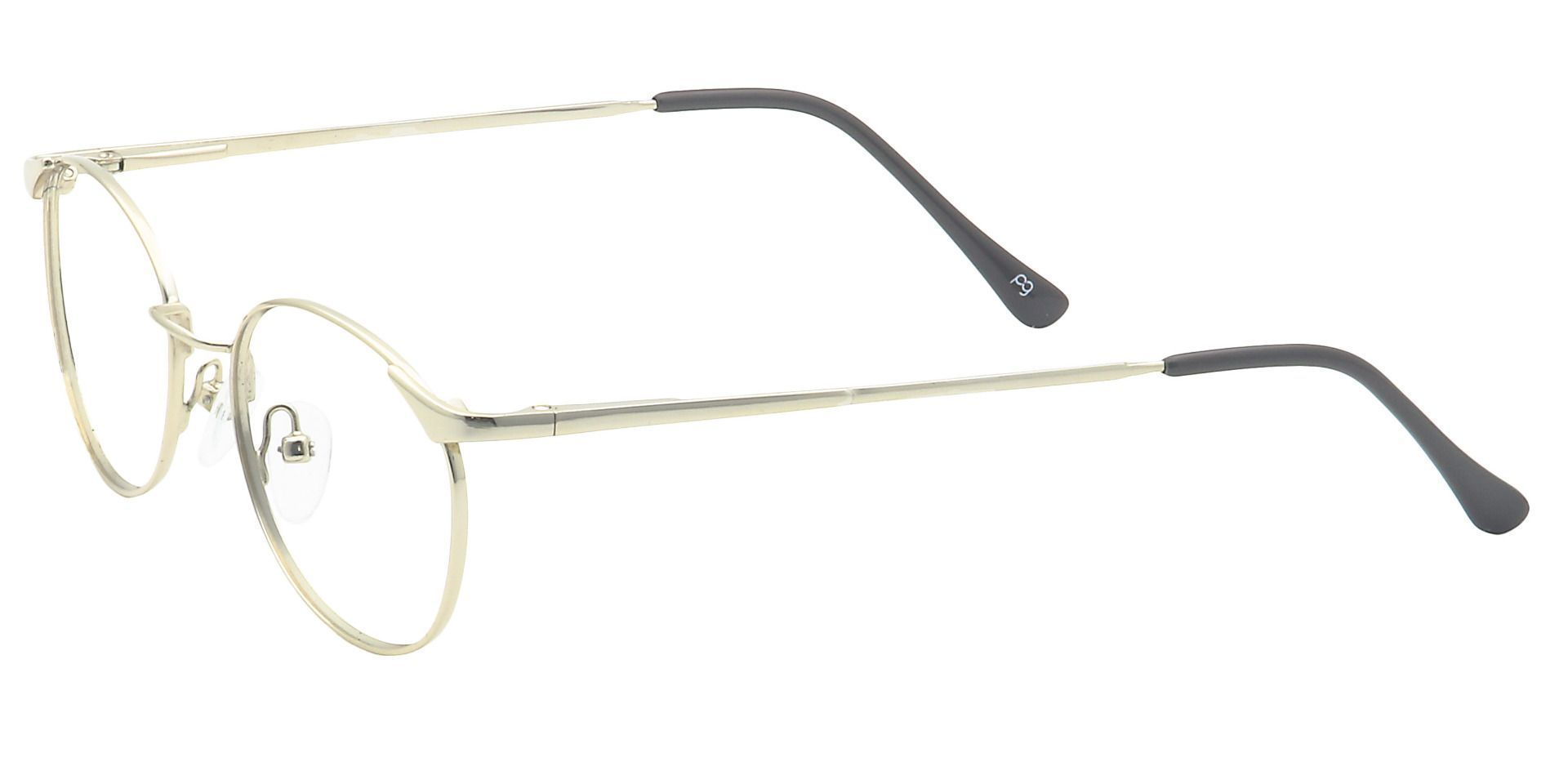 Collen Round Progressive Glasses - Yellow