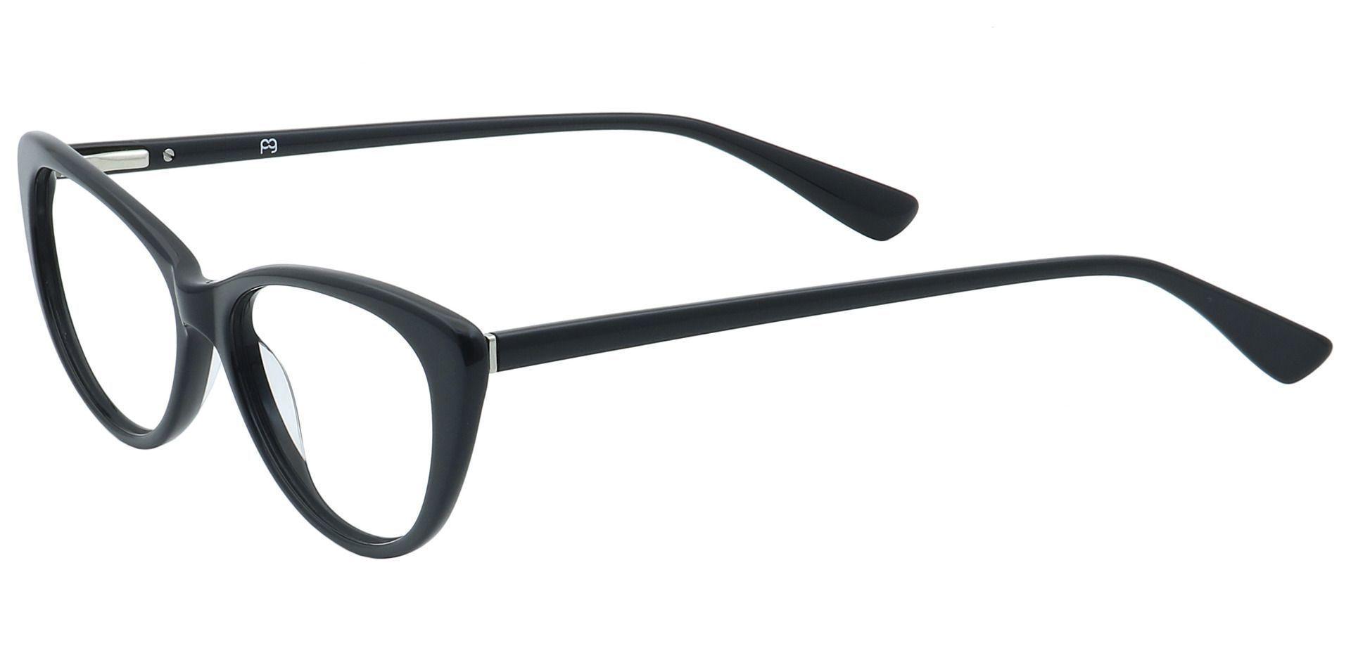 Cheryl Cat-Eye Prescription Glasses - Black