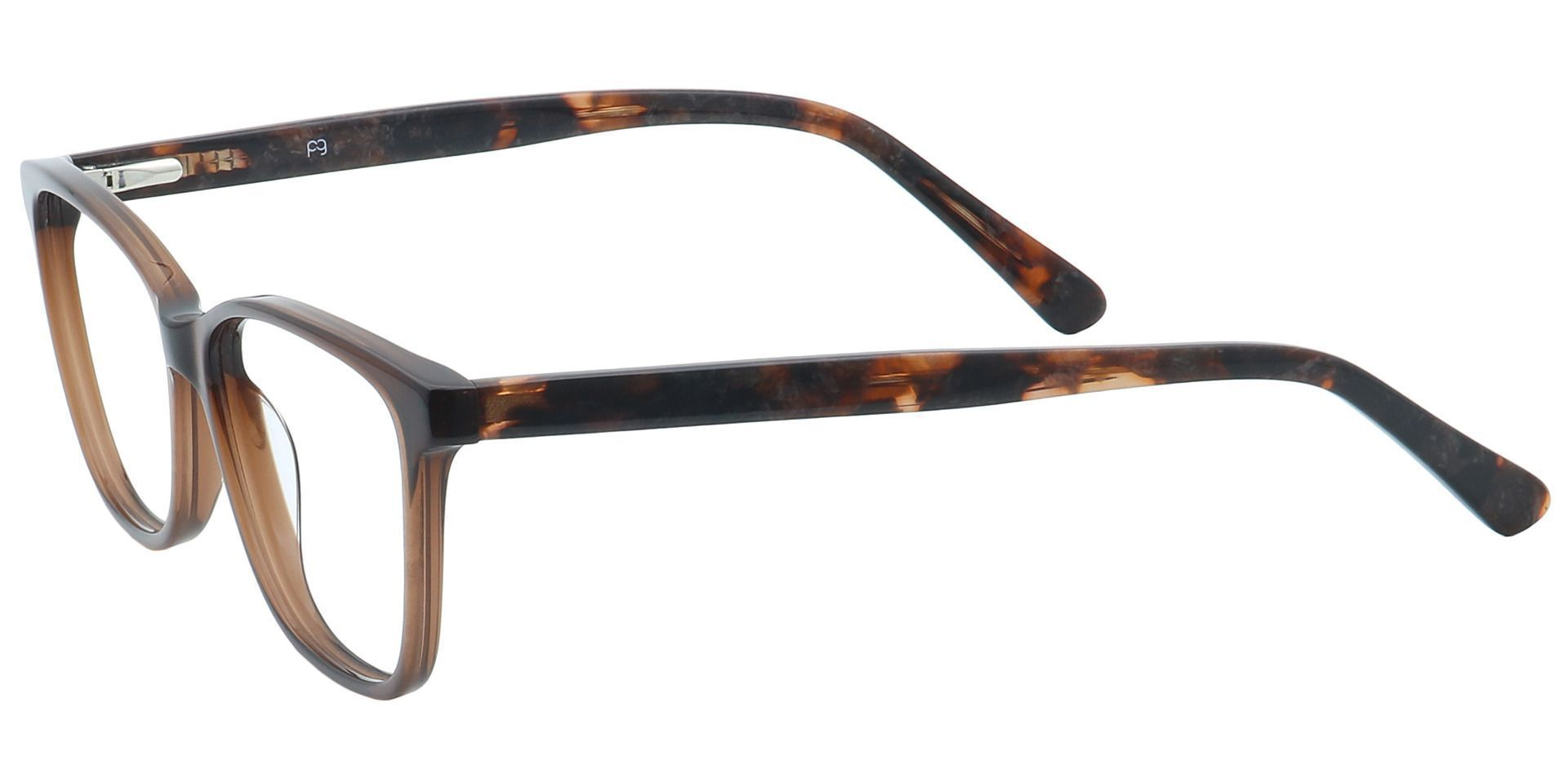 Casper Rectangle Non-Rx Glasses - Brown