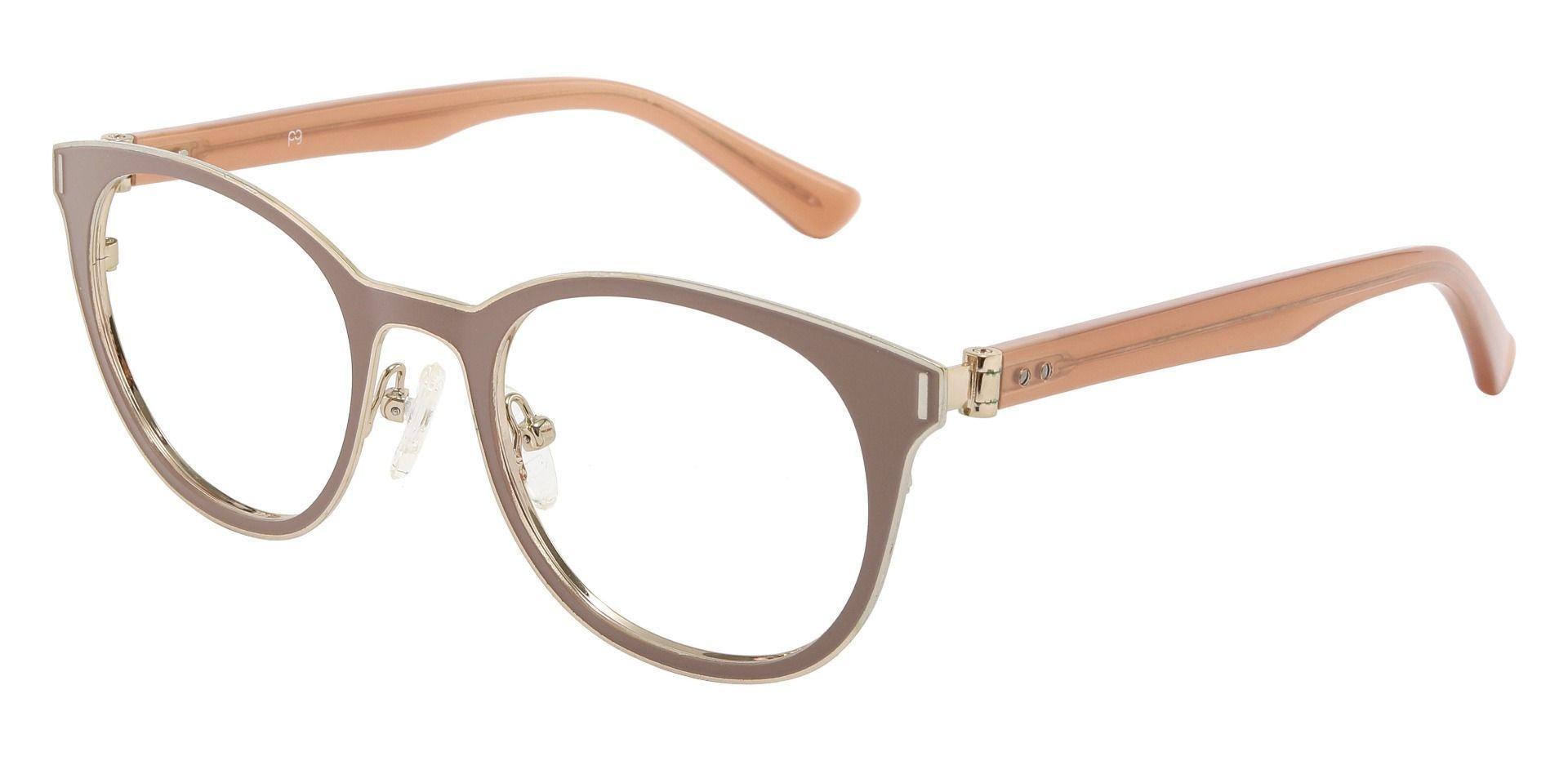 Coronado Oval Prescription Glasses - Brown
