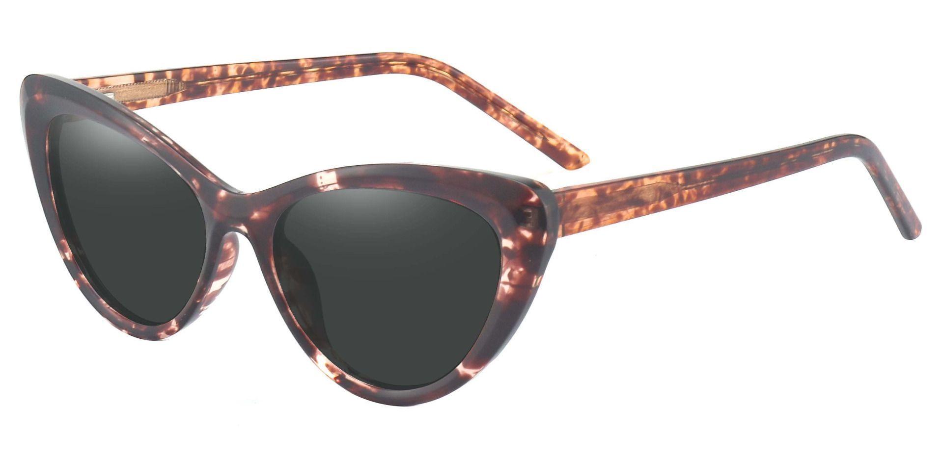 Gemini Cat Eye Non-Rx Sunglasses - Tortoise Frame With Gray Lenses