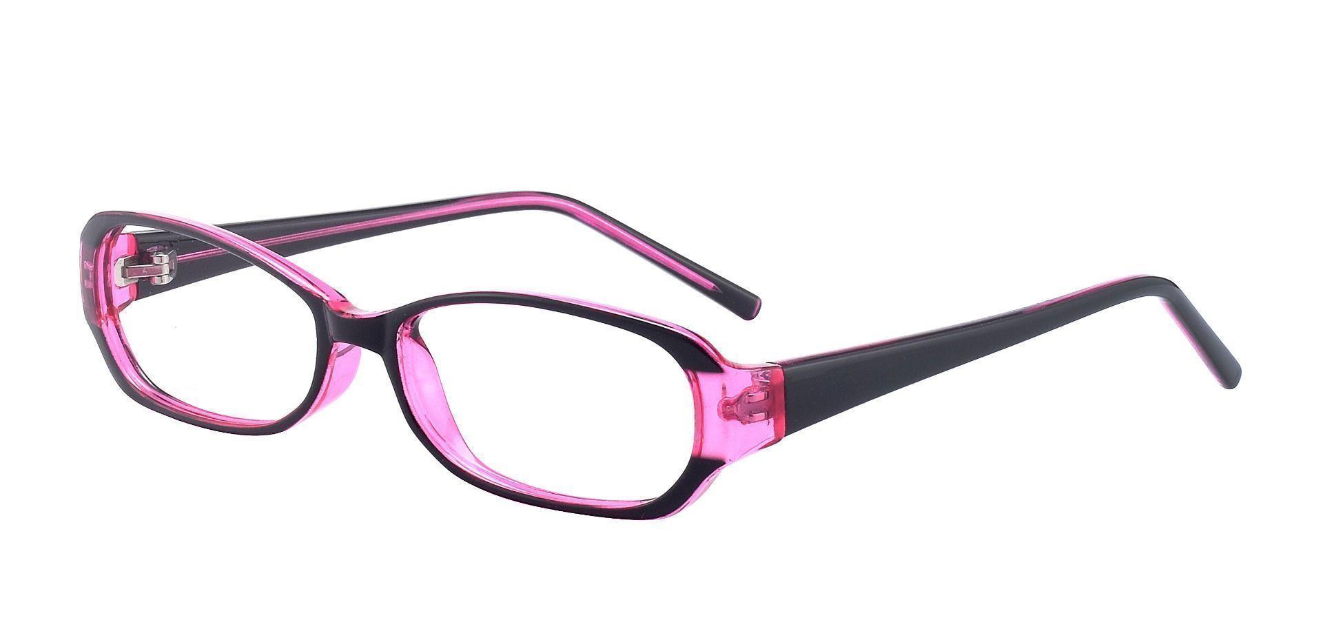 Nairobi Oval Single Vision Glasses - Purple