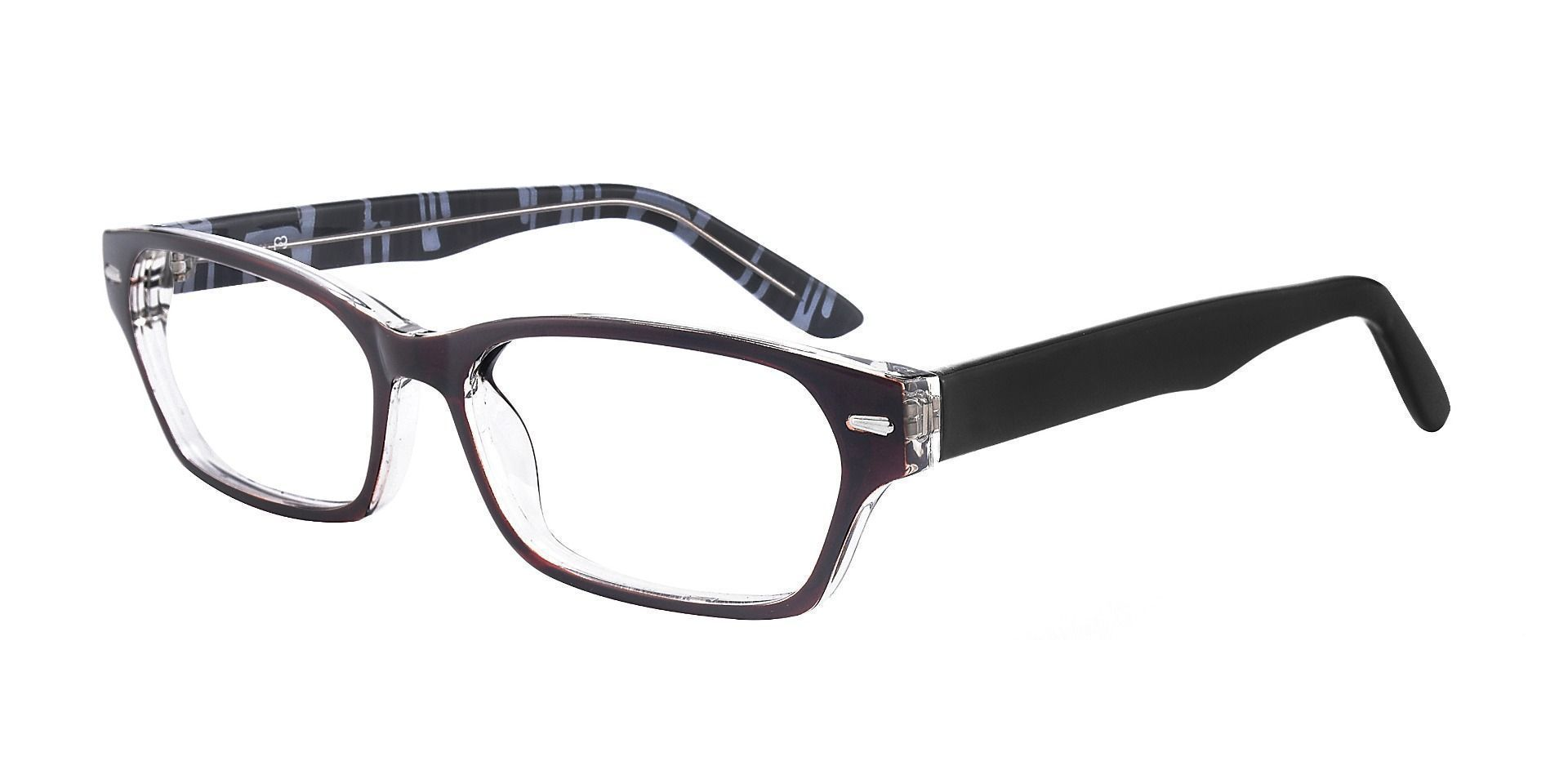 Wagner Rectangle Progressive Glasses - Brown