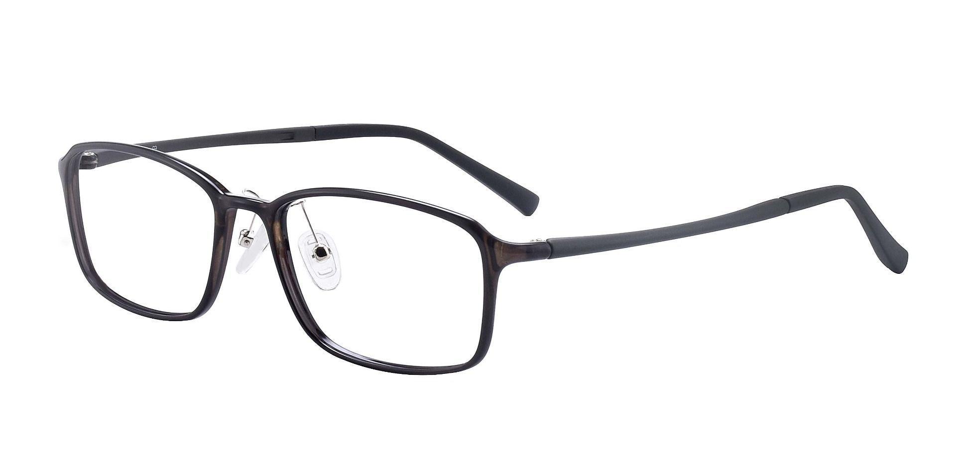 Brahm Rectangle Prescription Glasses - Gray