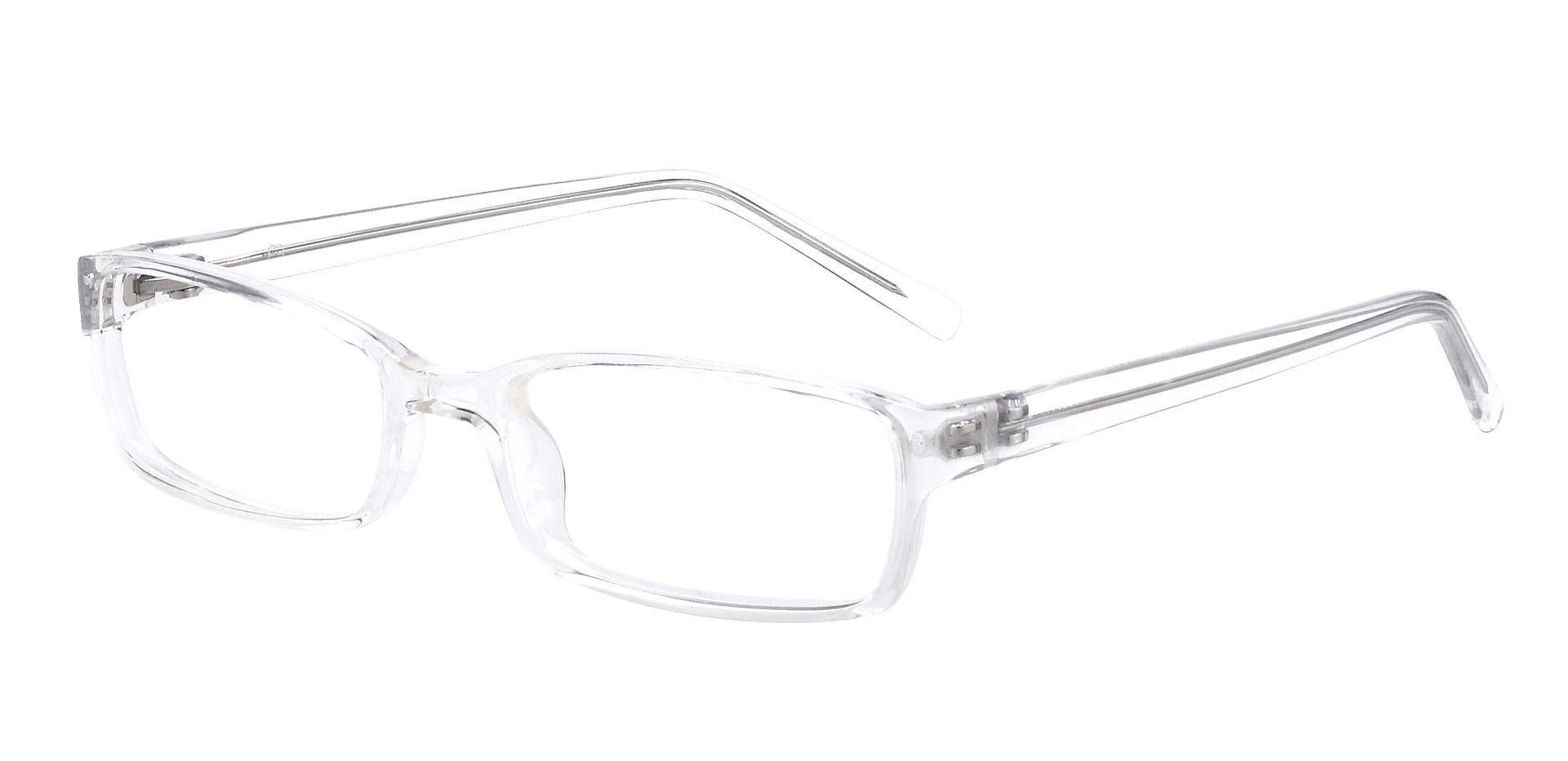 Sanford Rectangle Reading Glasses - Crystal
