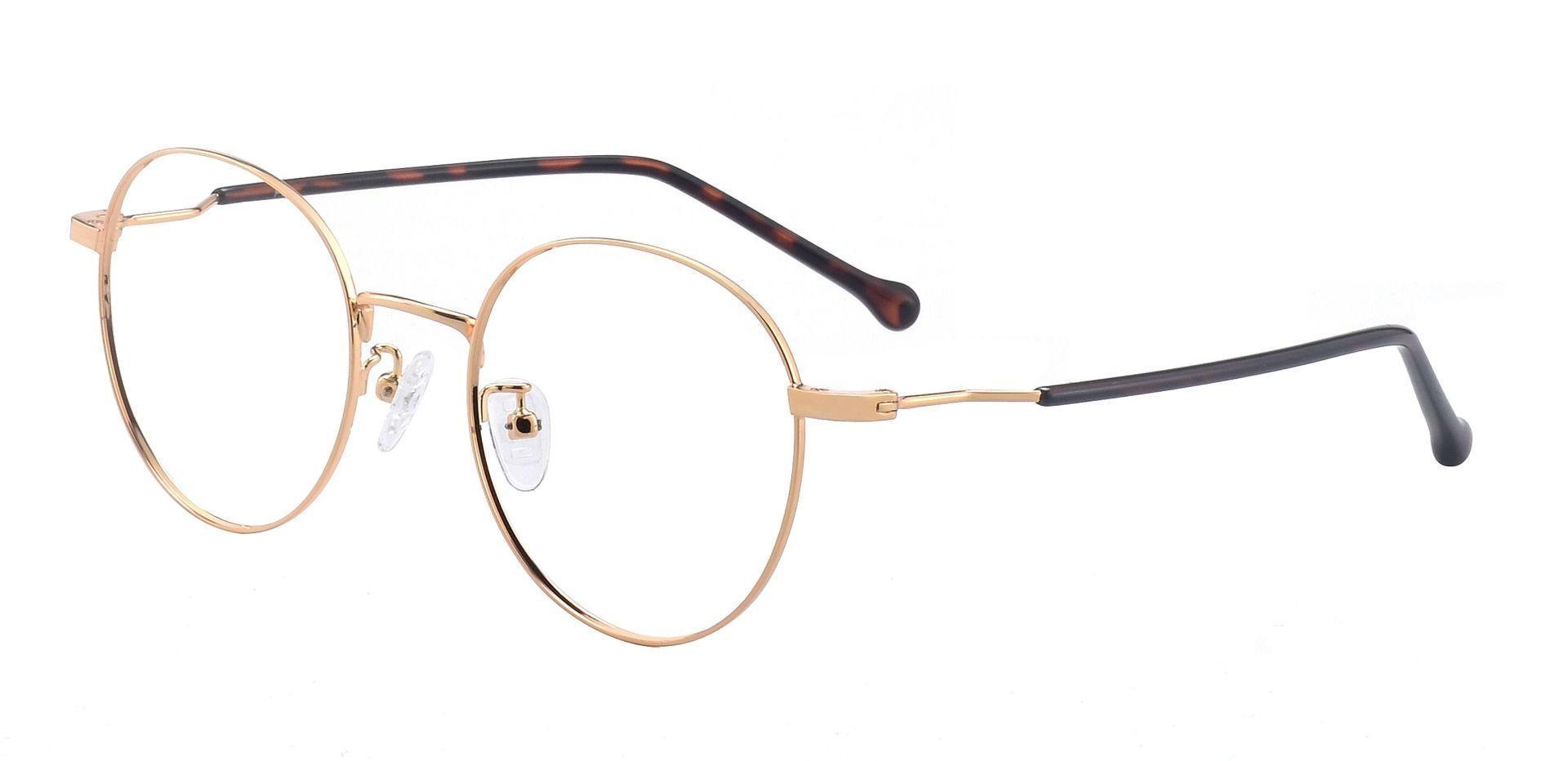 Truman Oval Prescription Glasses - Yellow