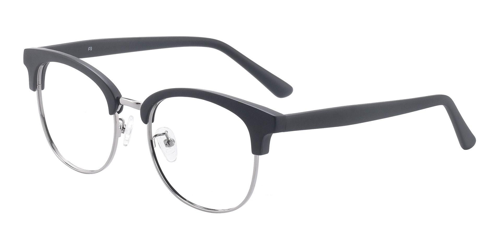 Romero Browline Prescription Glasses - Black