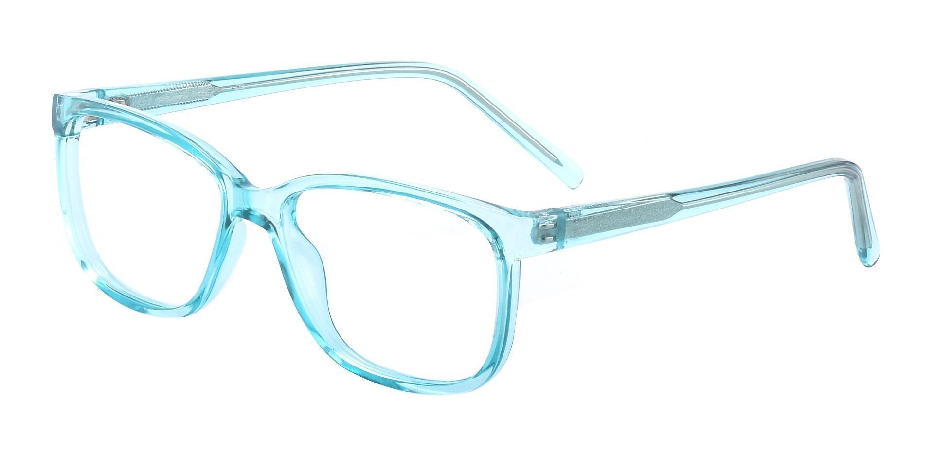 Neville Rectangle Prescription Glasses - Blue