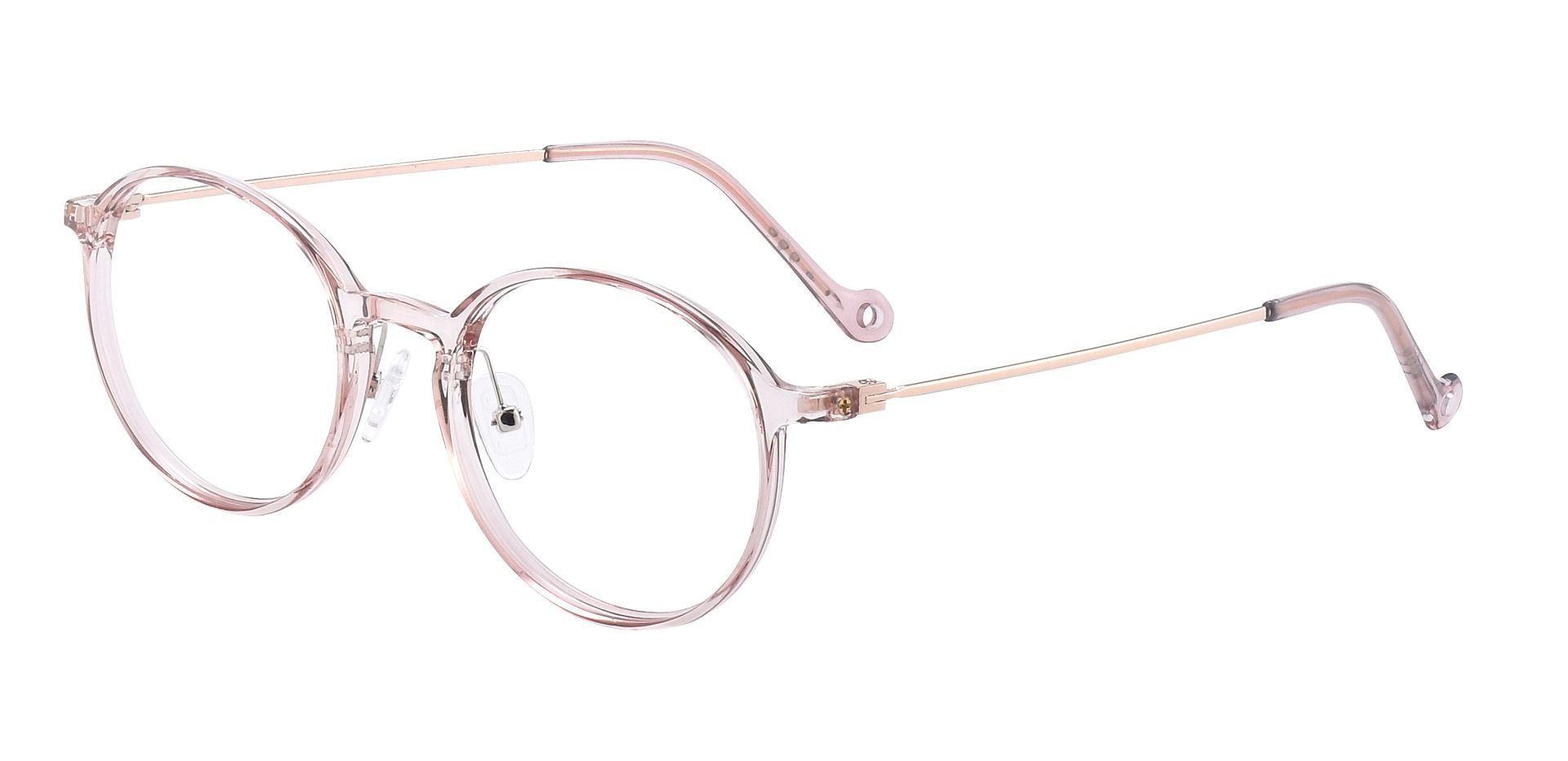 Blythe Round Prescription Glasses - Pink